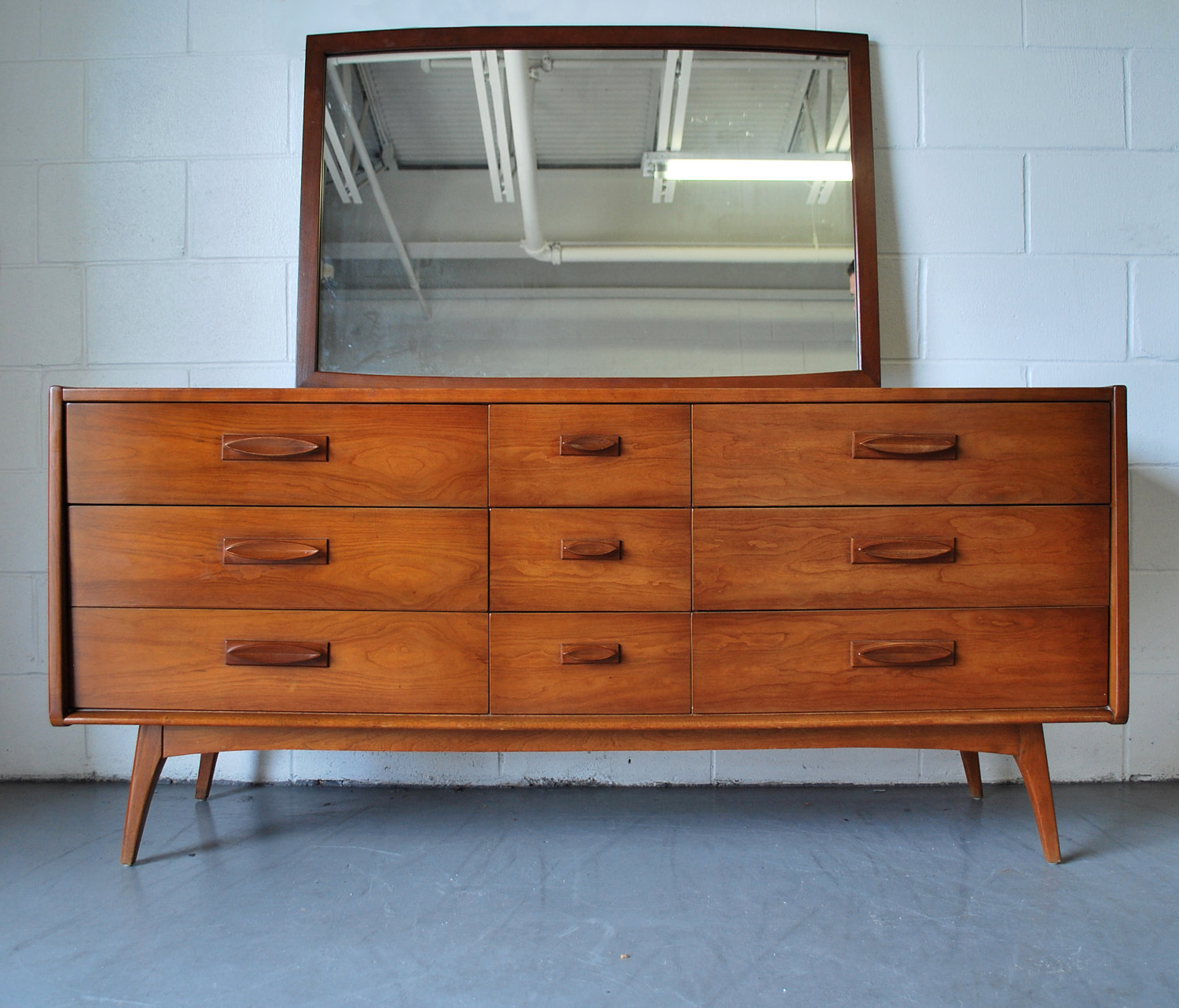 Elegant Small Wood Dresser In Danish Style Intended For Mid Century Modern Scandinavian Style Buffets (View 5 of 20)
