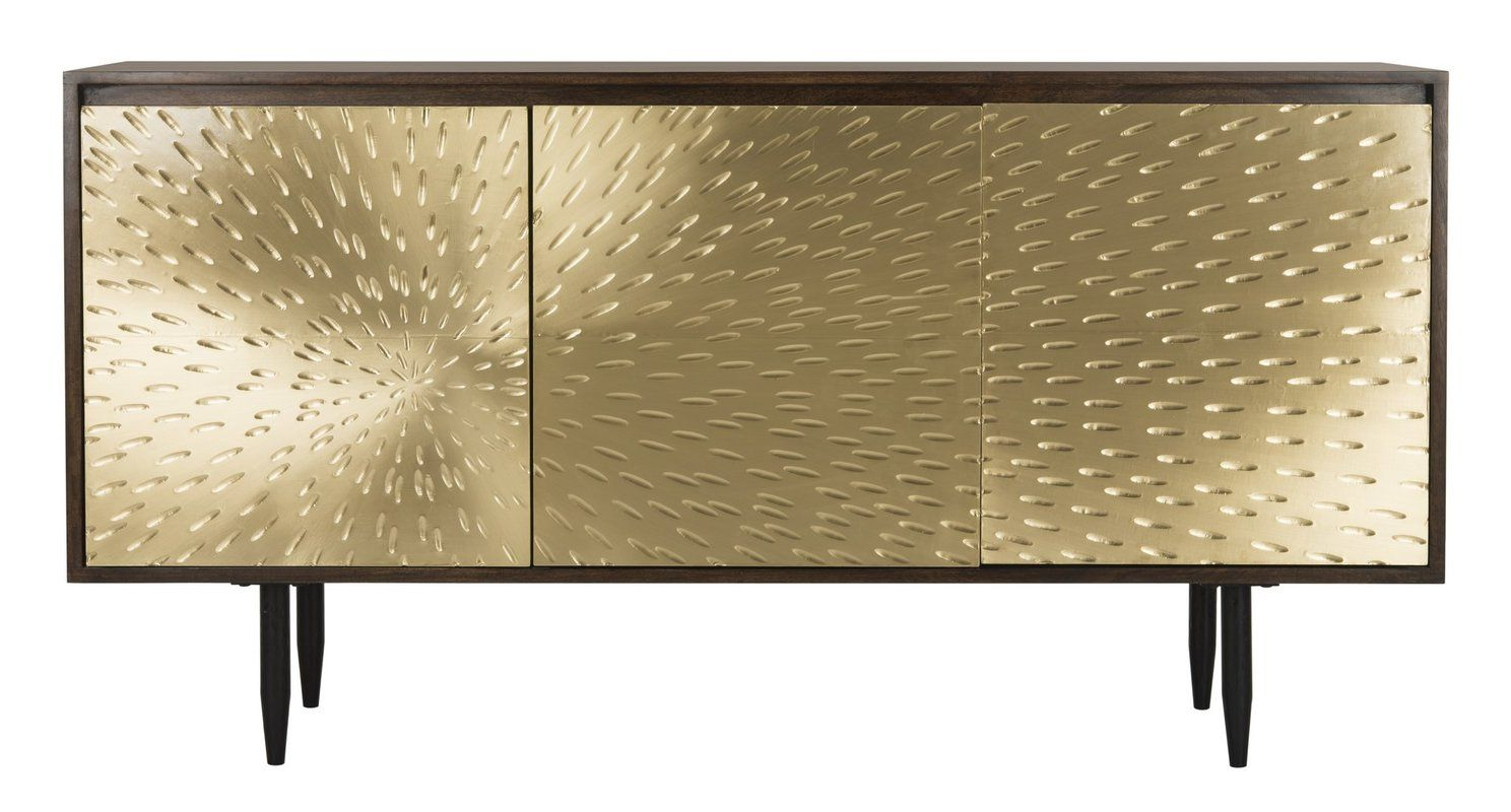 Eleni Brass Sideboard | Belmont Dining Room In 2019 | Brown Regarding Pale Pink Bulbs Credenzas (Gallery 17 of 20)