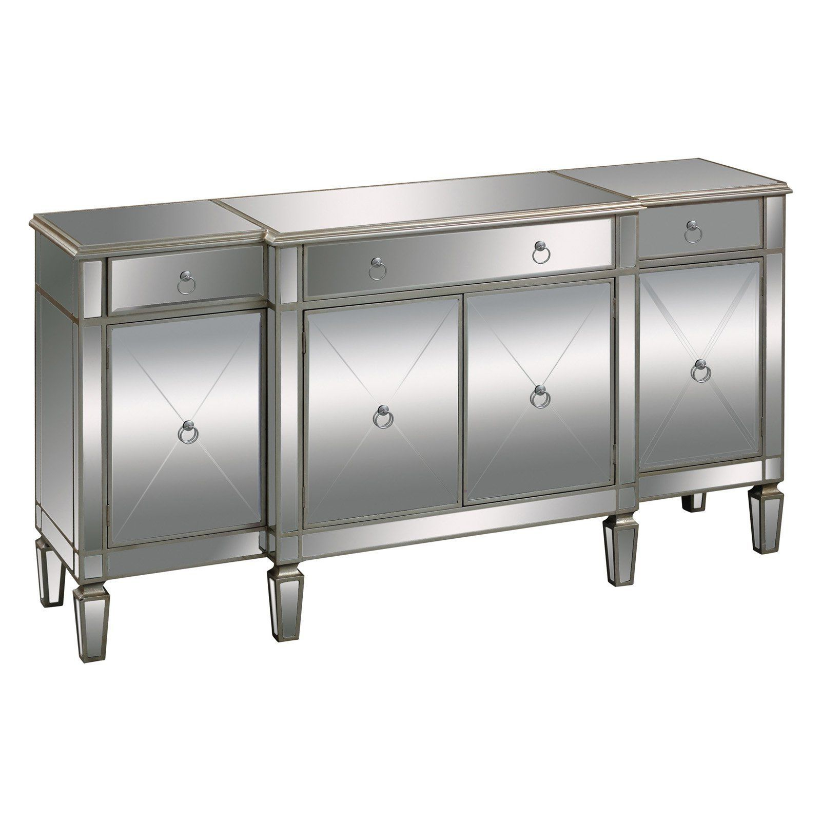 Elk Lighting Bodrum Buffet Server – 6043618 | Products Inside 3 Drawer Titanium Buffets (View 7 of 20)