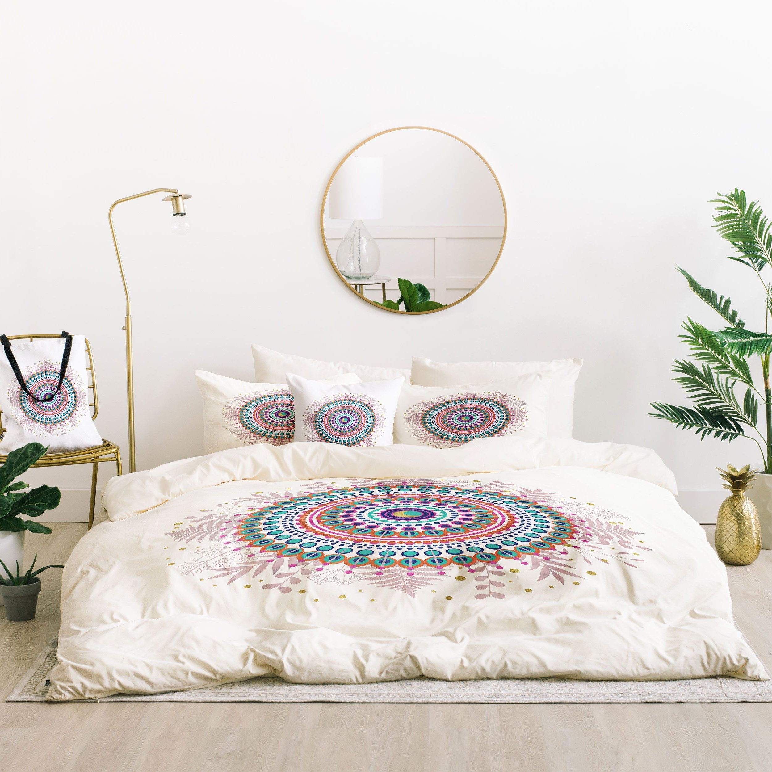 Emanuela Carratoni Boho Mandala Bed In A Bag | Cafelab's Within Desert Crystals Theme Credenzas (View 19 of 20)