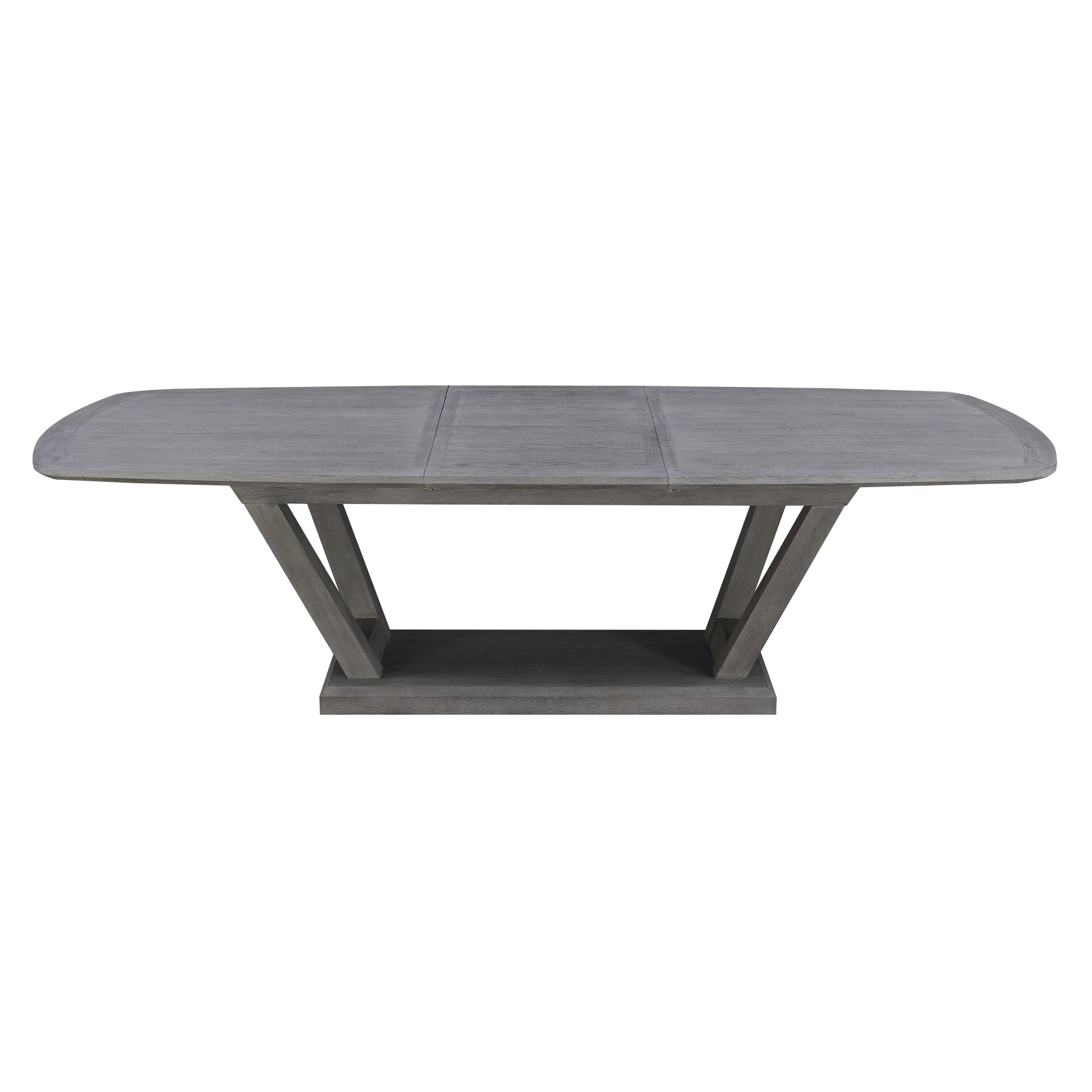 Emerald Home Carrera Gray Modern Dining Table Within Carrera Contemporary Black Dining Buffets (View 11 of 20)