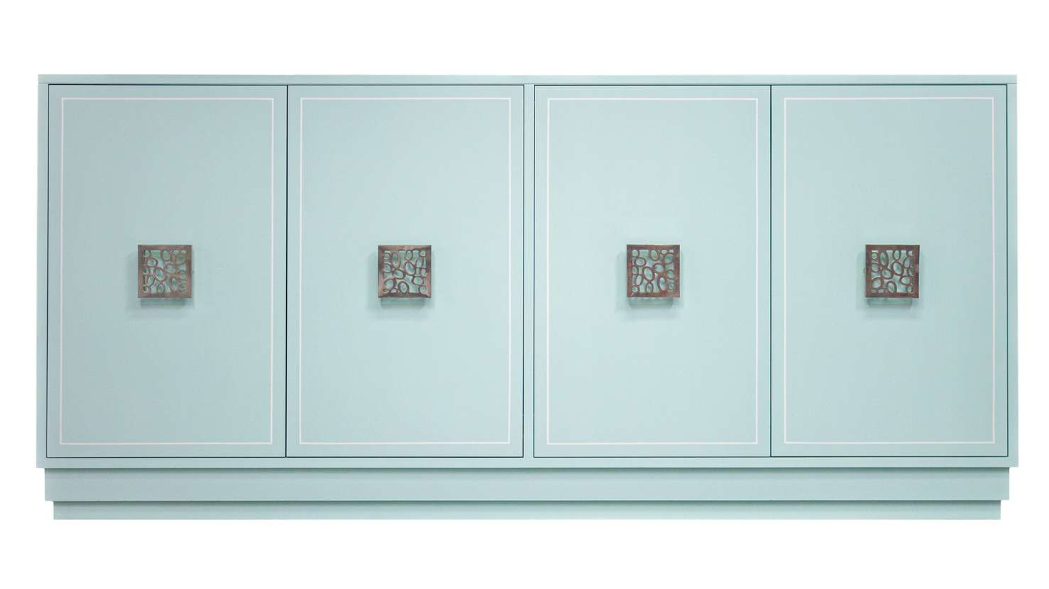 """Facets 72"""" Credenza, Four Door 