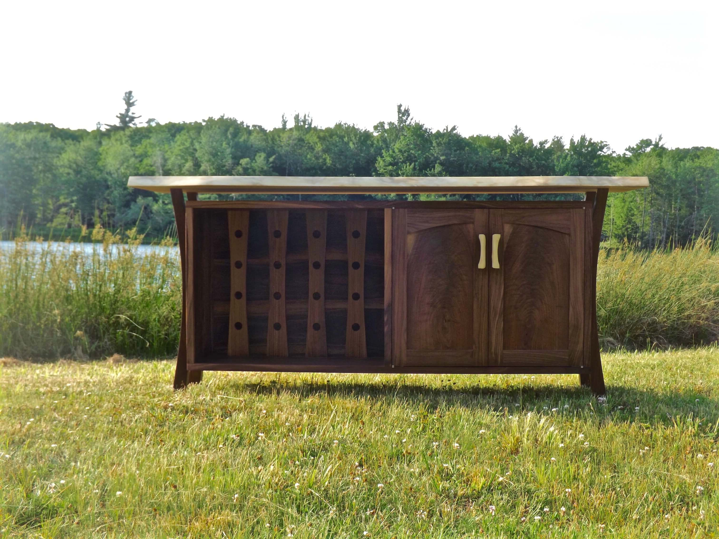 Furniture And Architectural Crafts Within Copper Leaf Wood Credenzas (View 13 of 20)
