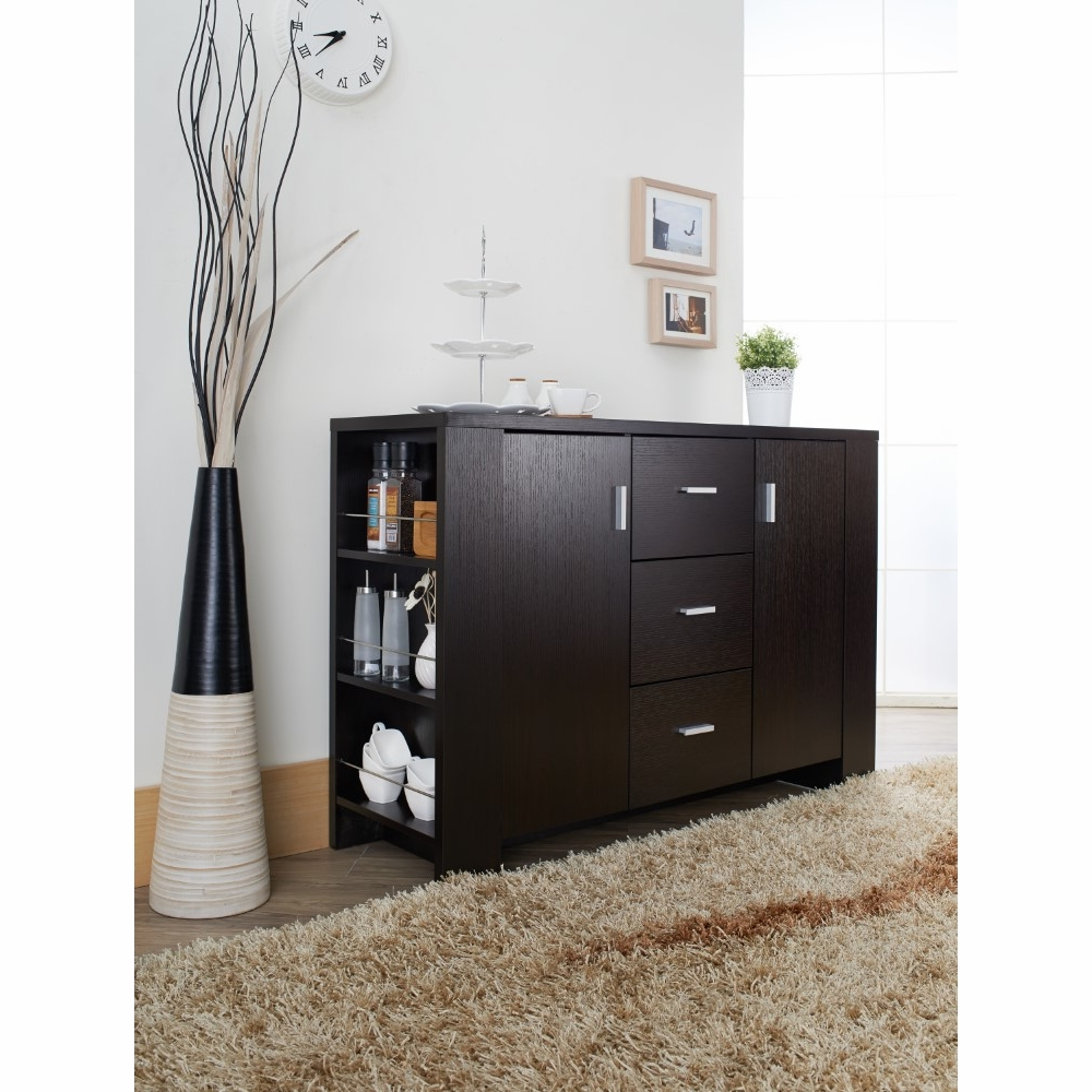 Furniture Of America – Antony Contemporary Dining Buffet In Cappuccino –  Id 11424 In Contemporary Cappuccino Buffets (View 4 of 20)