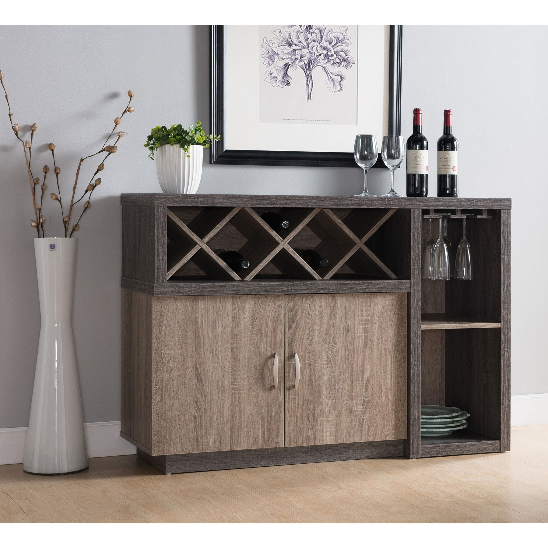 Featured Photo of Contemporary Distressed Grey Buffets