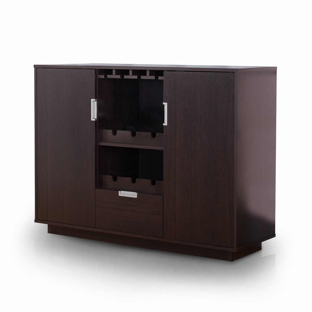 Furniture Of America – Mondo Modern Buffet In Espresso – Ynj 1460C5 With Modern Espresso Storage Buffets (View 5 of 20)