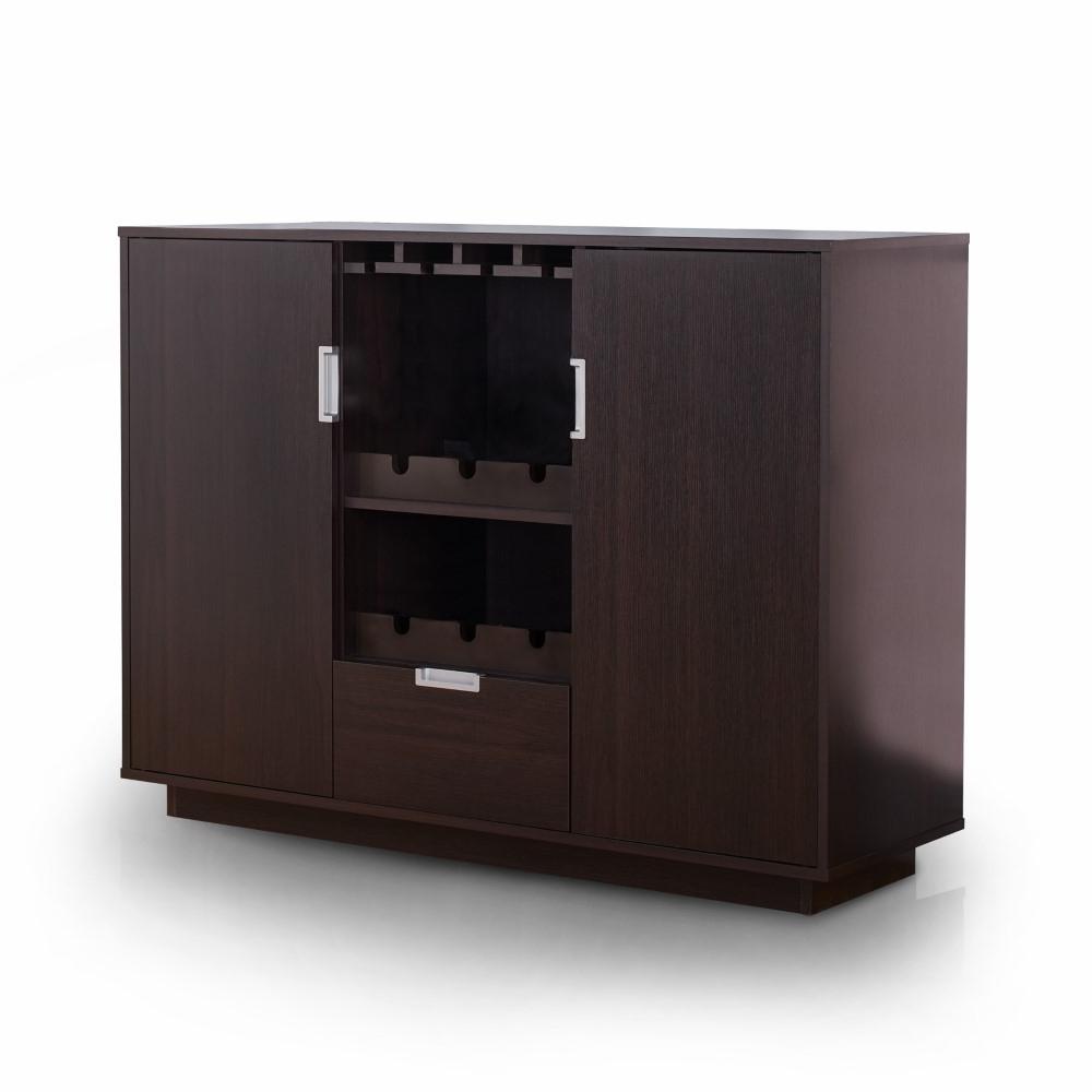 Furniture Of America – Mondo Modern Buffet In Espresso – Ynj 1460C5 With Regard To Contemporary Espresso 2 Cabinet Dining Buffets (View 7 of 20)