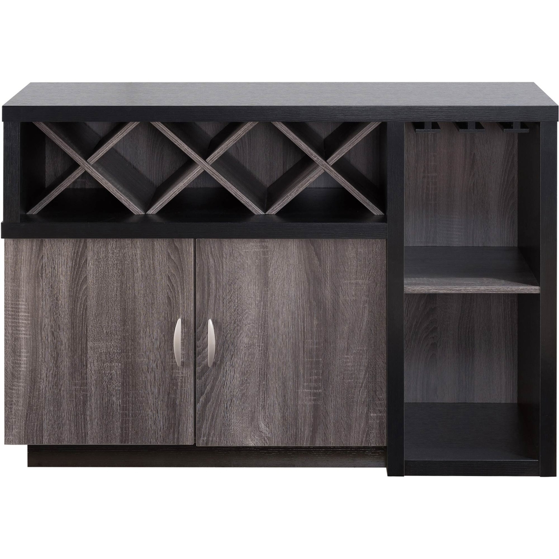 Furniture Of America Pikallo Contemporary Multi Storage For Contemporary Multi Storage Dining Buffets (View 16 of 20)