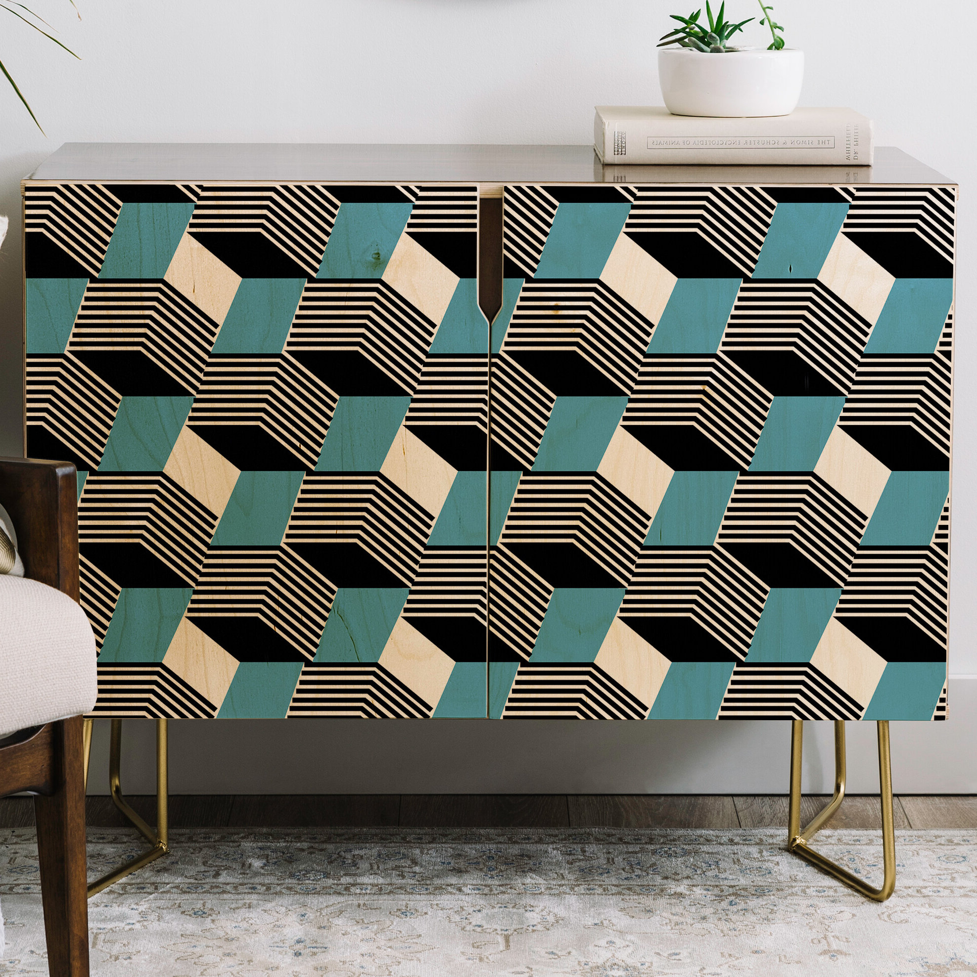 Gabriela Fuente Cube Play Credenza Intended For Emerald Cubes Credenzas (View 6 of 20)