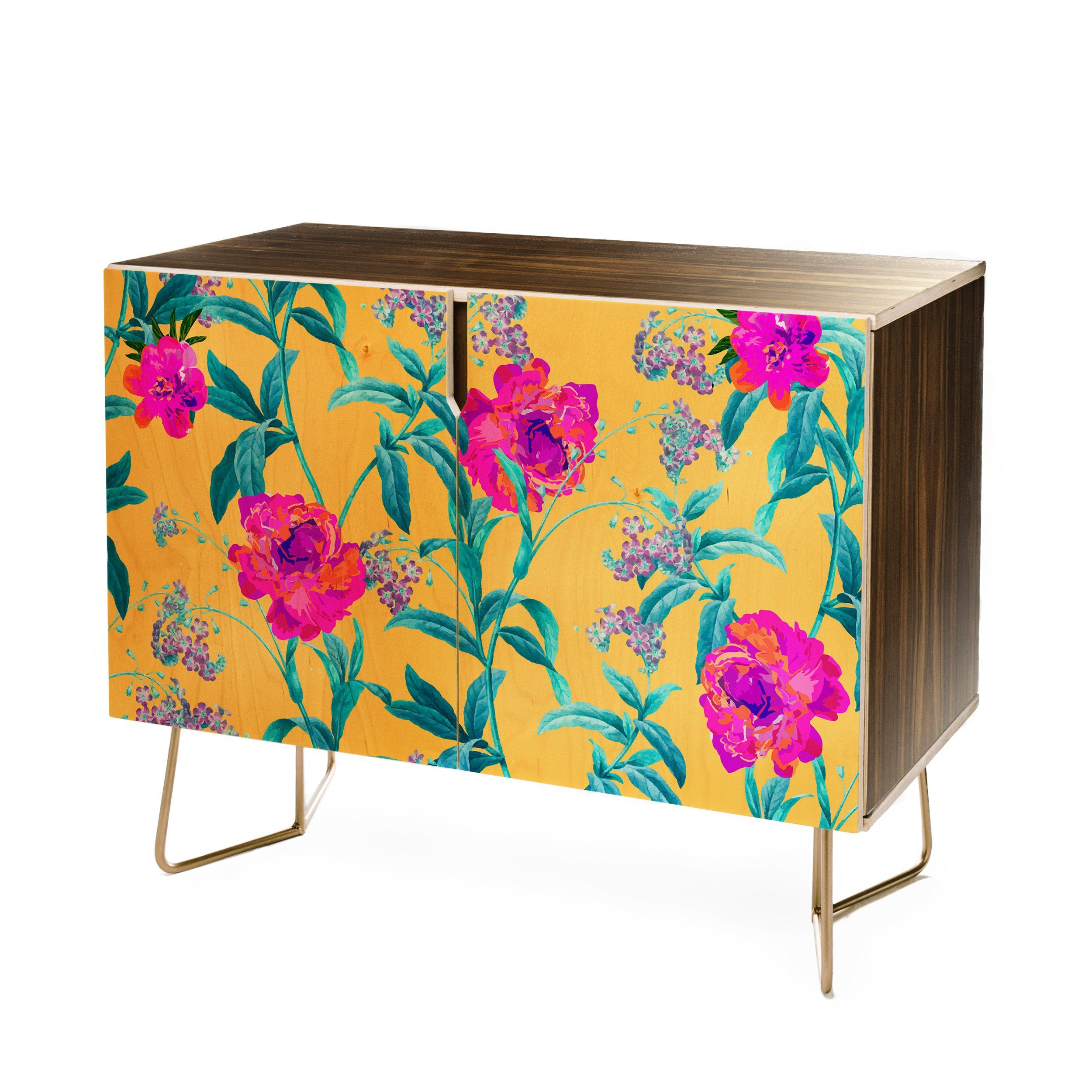 Gabriela Fuente Florastic Credenza In 2019 | Decor Regarding Floral Beauty Credenzas (View 8 of 20)