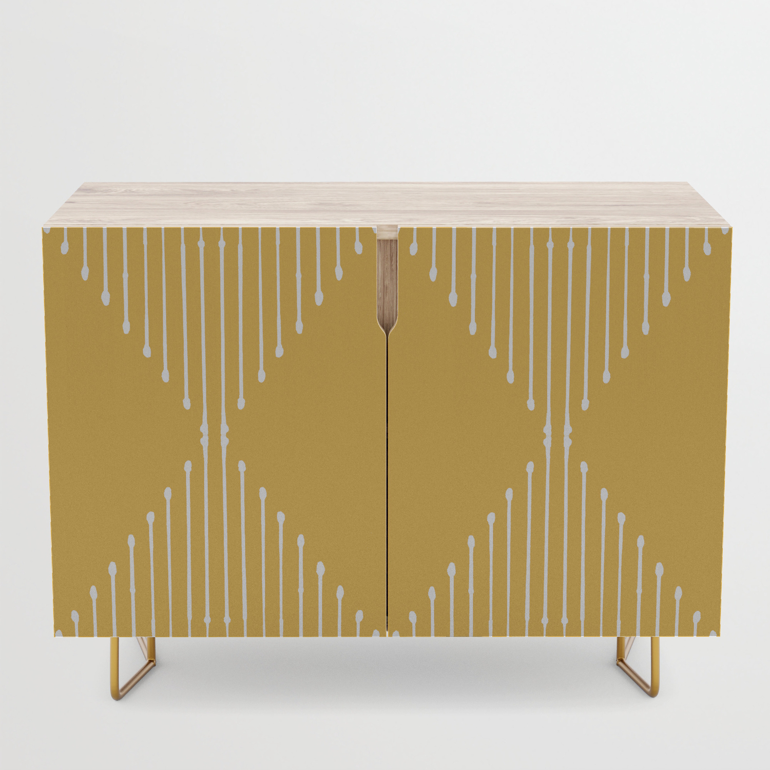 Geo / Yellow Credenza Inside Line Geo Credenzas (View 9 of 20)