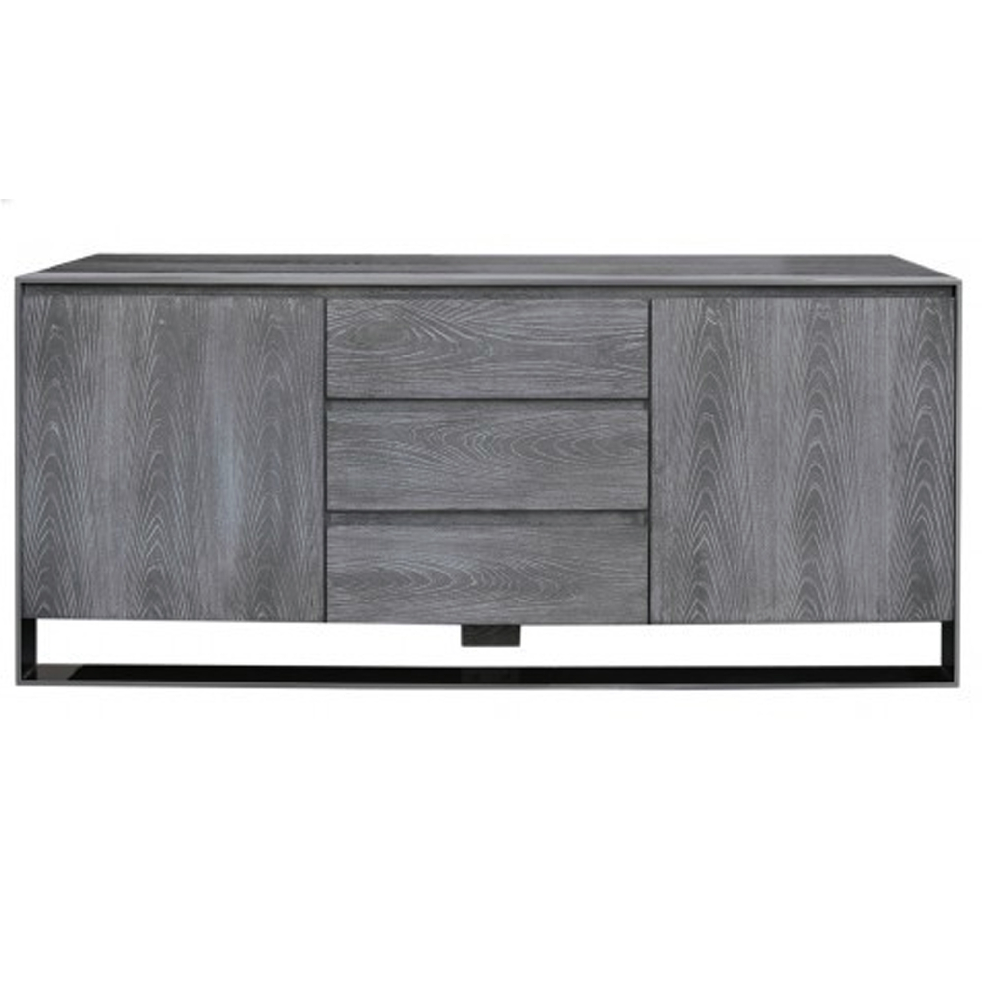 Grey Wooden Sideboard Intended For White And Grey Sideboards (Gallery 2 of 20)