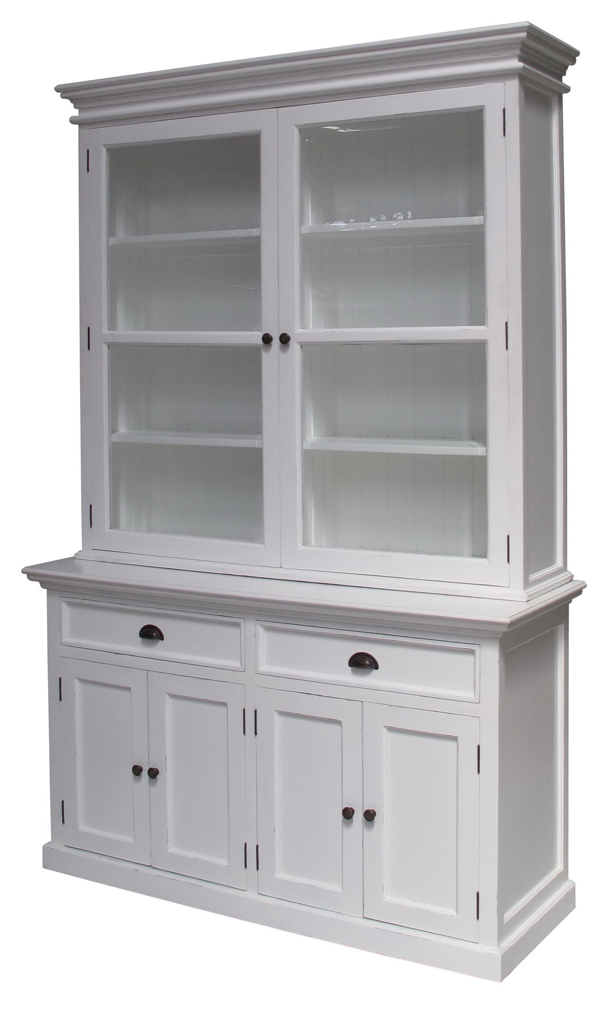 Halifax 2 Door And 2 Drawer Buffet And Hutch For Rustic Black 2 Drawer Buffets (View 16 of 20)