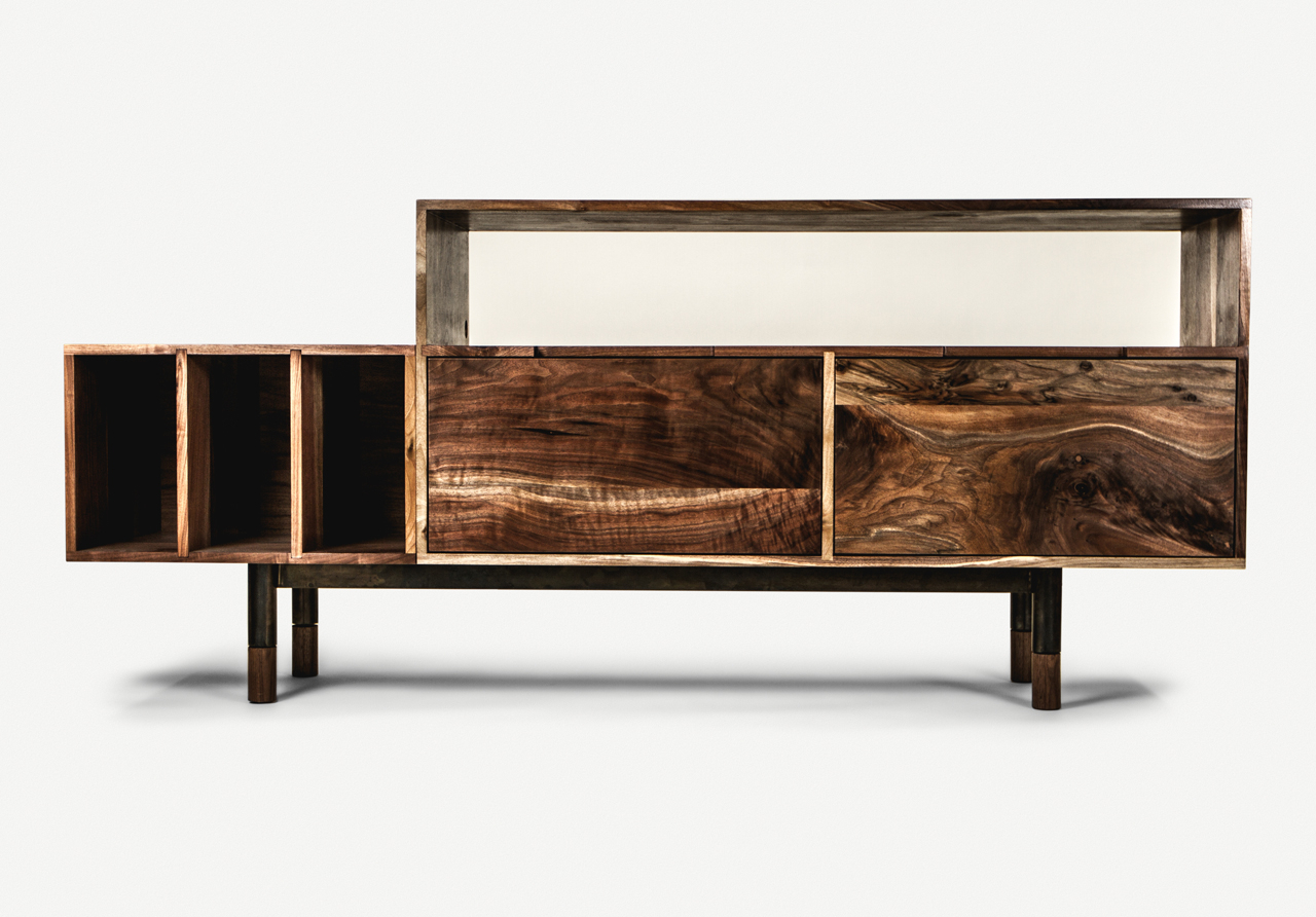 Handcrafted Furniturejeff Martin Joinery – Design Milk For Wooden Deconstruction Credenzas (View 16 of 20)