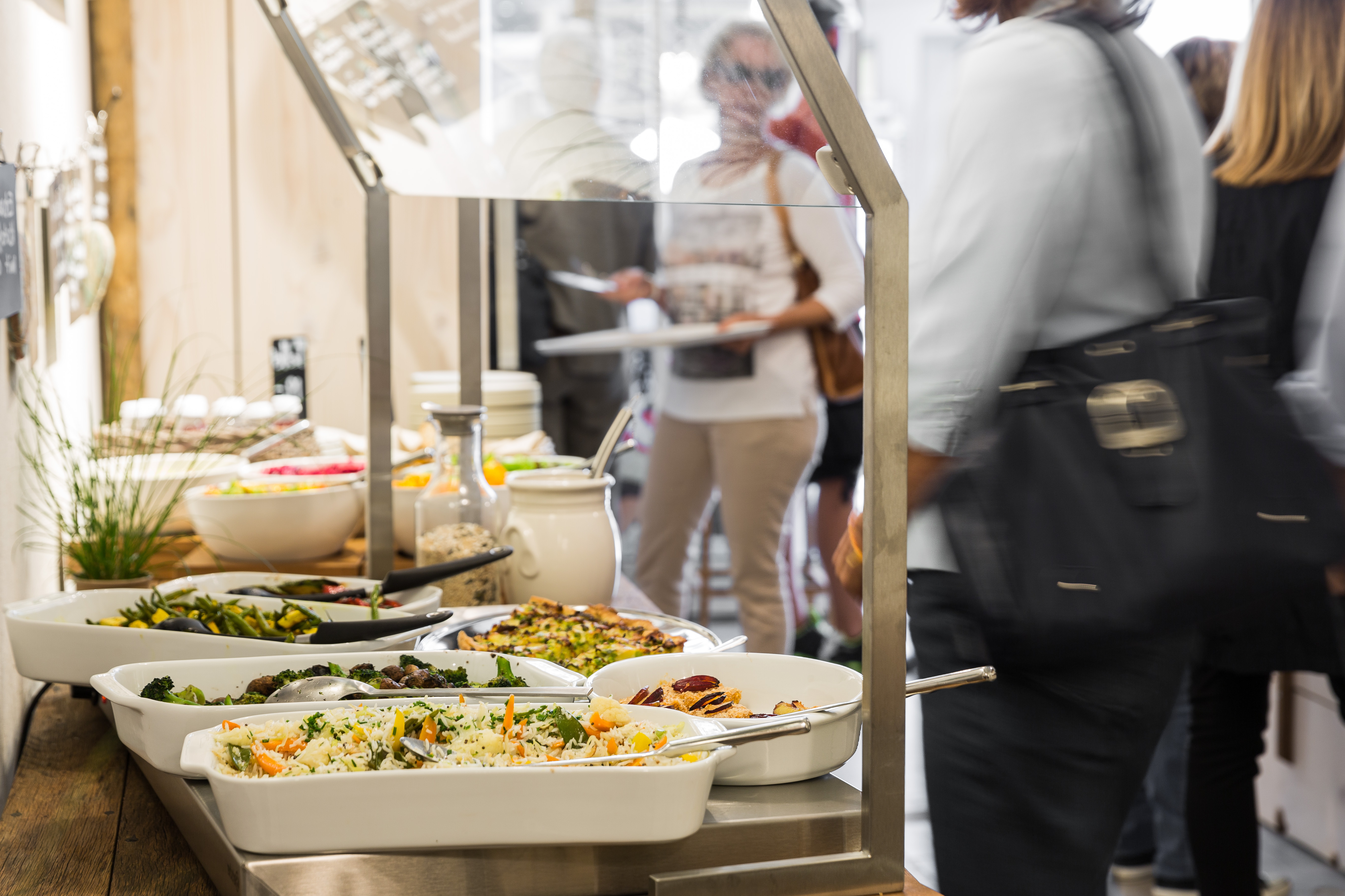 Herzlich Vegetarisches Restaurant & Takeaway In Liestal With Espresso Wood Multi Use Buffets (View 20 of 20)