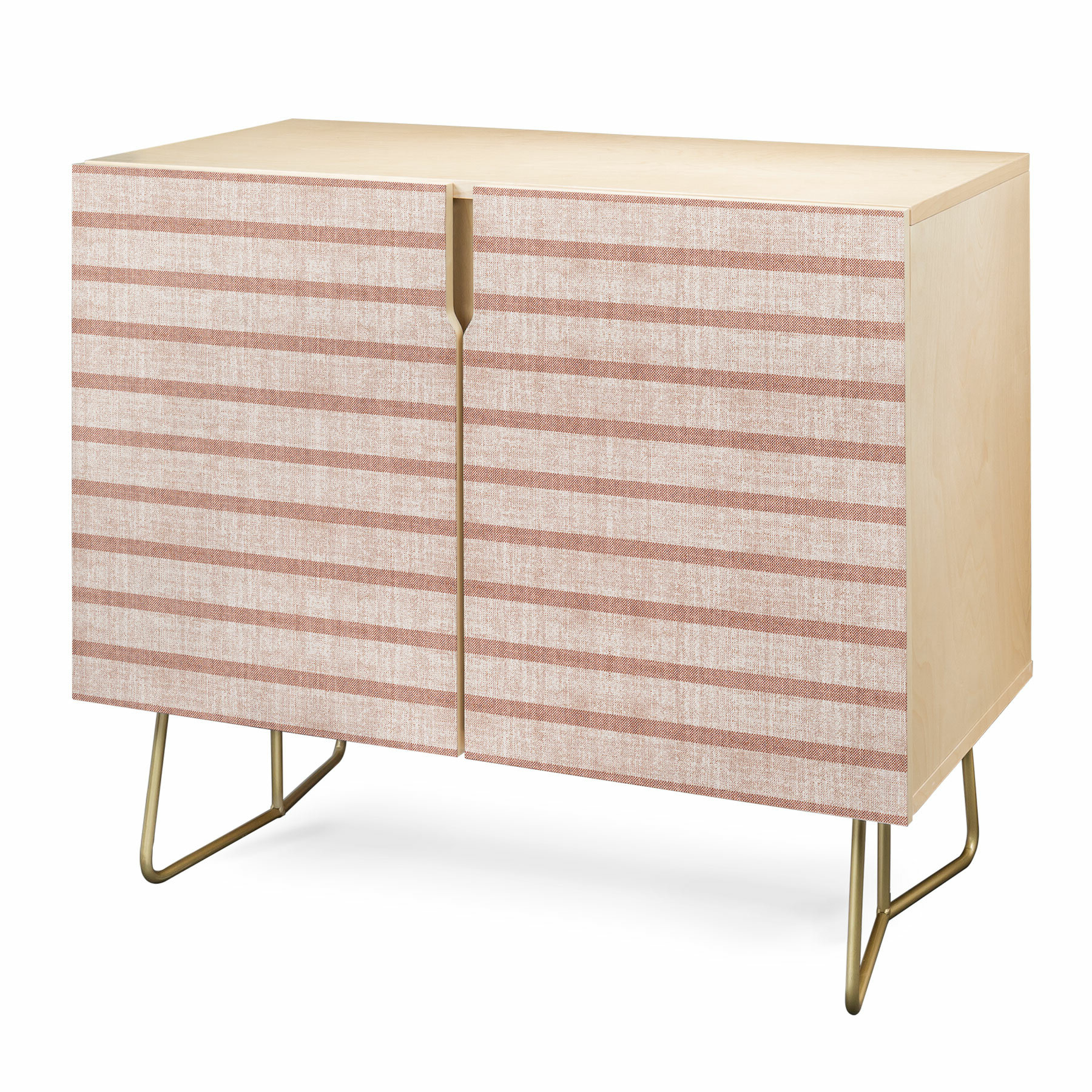 Holli Stripe Accent Cabinet Pertaining To Multi Stripe Credenzas (View 16 of 20)