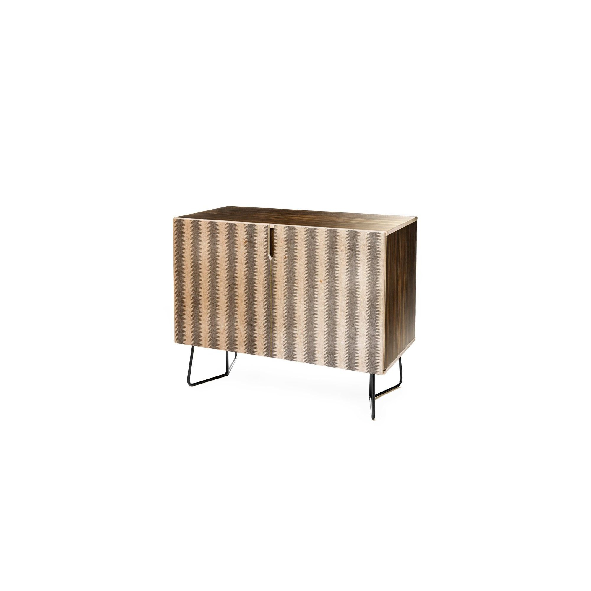 Holli Zollinger French Seaside Stripe Credenza Black Legs Pertaining To Beach Stripes Credenzas (View 14 of 20)