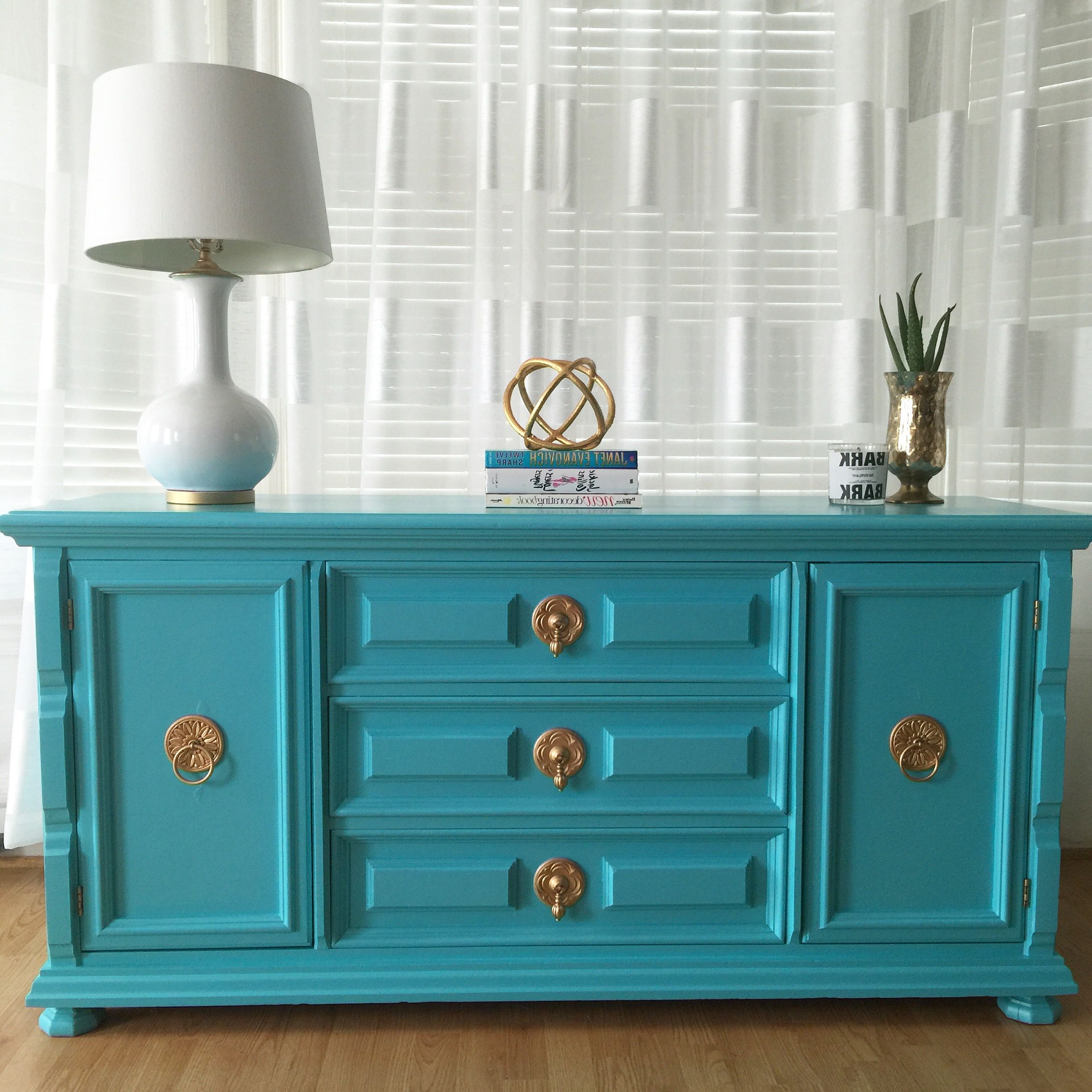 Hollywood Regency Credenza Sideboard Console Using High Intended For Deep Blue Fern Credenzas (View 20 of 20)