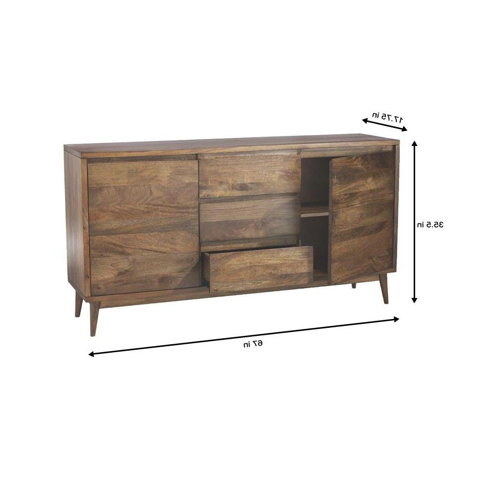 Home Decorators Collection Conrad Antique Natural Buffet Regarding Modern Natural Oak Dining Buffets (View 10 of 20)