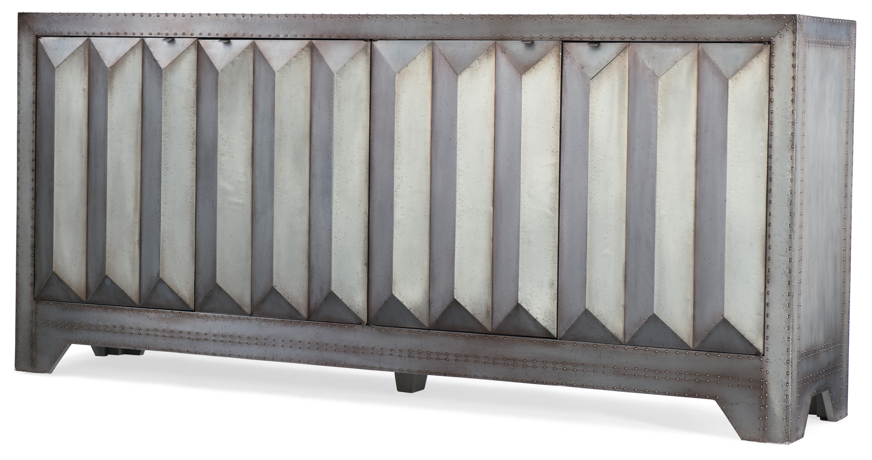 Hooker Furniture Beaumont Buffet Table | Wayfair Inside Grey Wooden Accent Buffets (View 19 of 20)