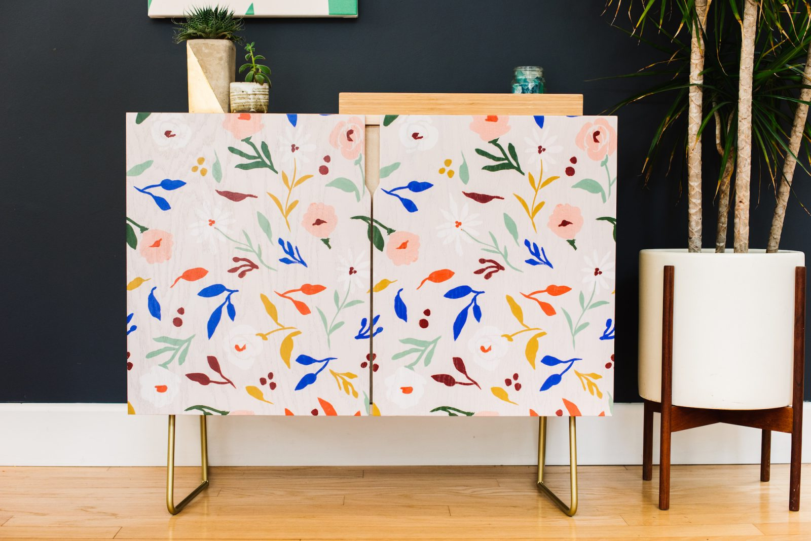 How To Build A Society6 Credenza – Society6 Blog In Line Geo Credenzas (View 11 of 20)