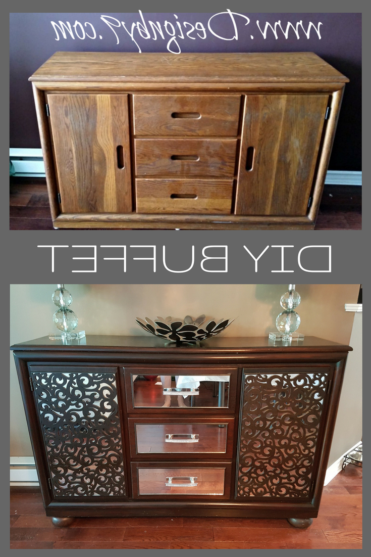 How To Make A Mirrored Buffet From A Dresser | Crafts Inside Mirrored Buffets (View 10 of 20)
