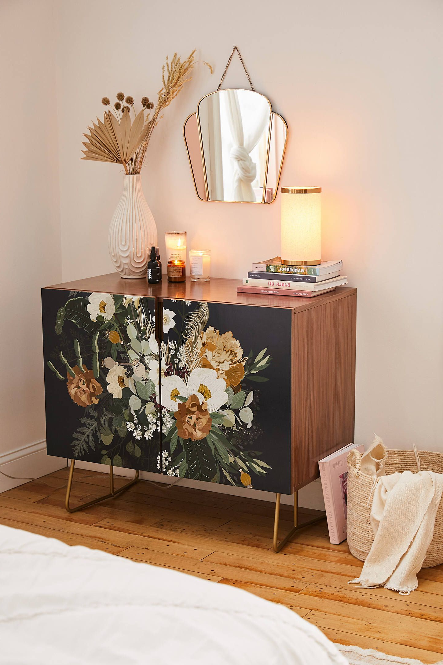 Iveta Abolina For Deny Paloma Blue Night Credenza In 2019 With Fleurette Night Credenzas (View 19 of 20)