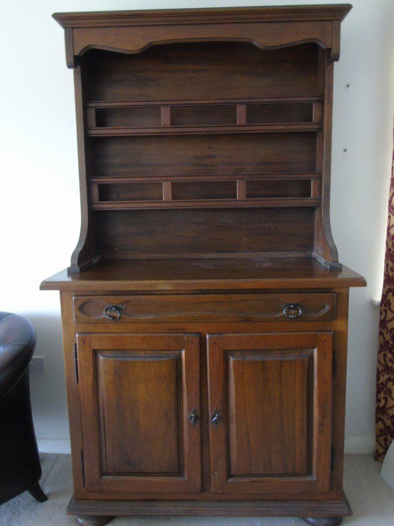 Large Vintage French Artisan Made Medium Oak Farmhouse Buffet/dresser | In  Corfe Mullen, Dorset | Gumtree With Regard To Medium Buffets With Wood Top (View 11 of 20)