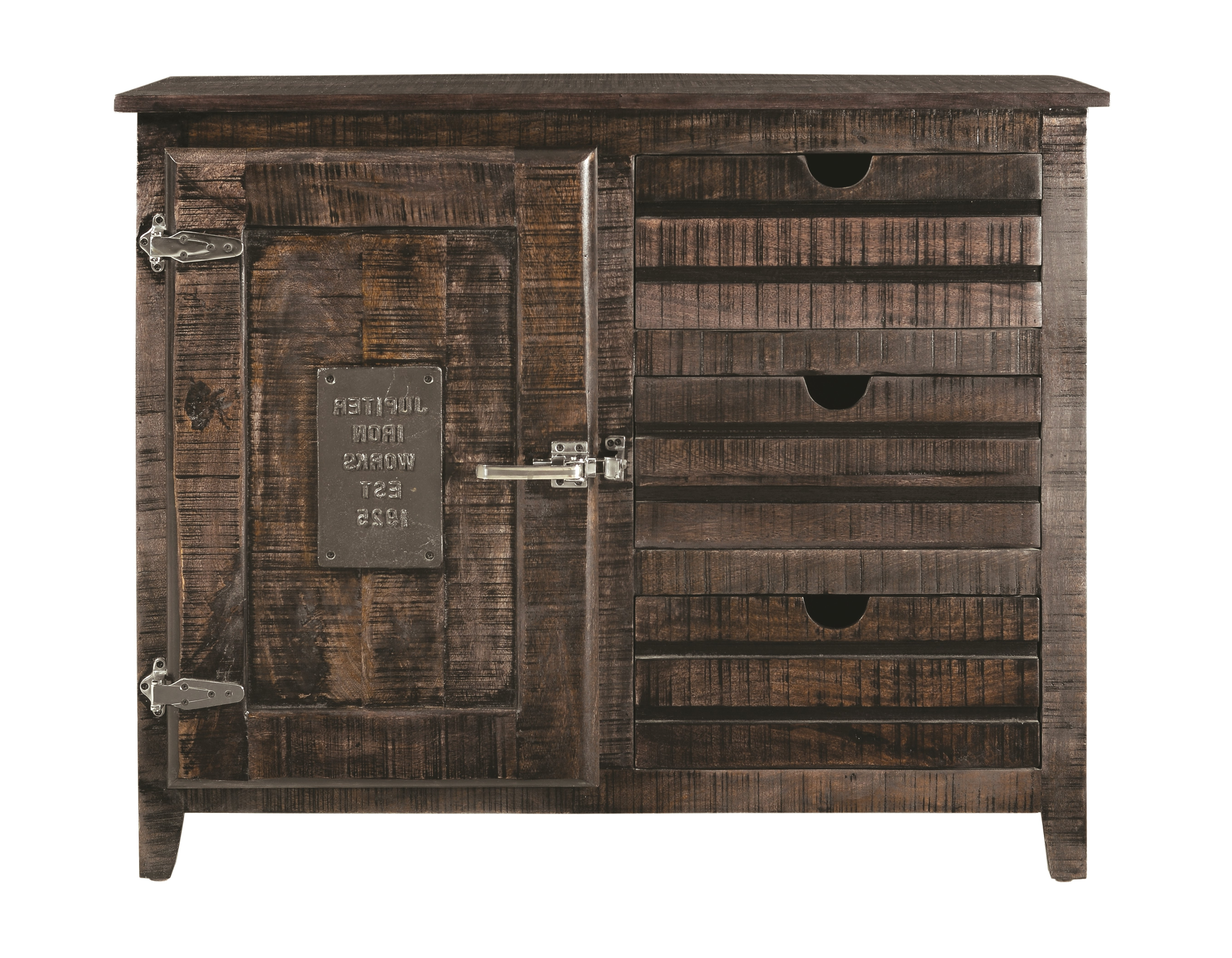 Laurel Foundry Modern Farmhouse Deana 3 Drawer Accent For Botanical Harmony Credenzas (View 19 of 20)