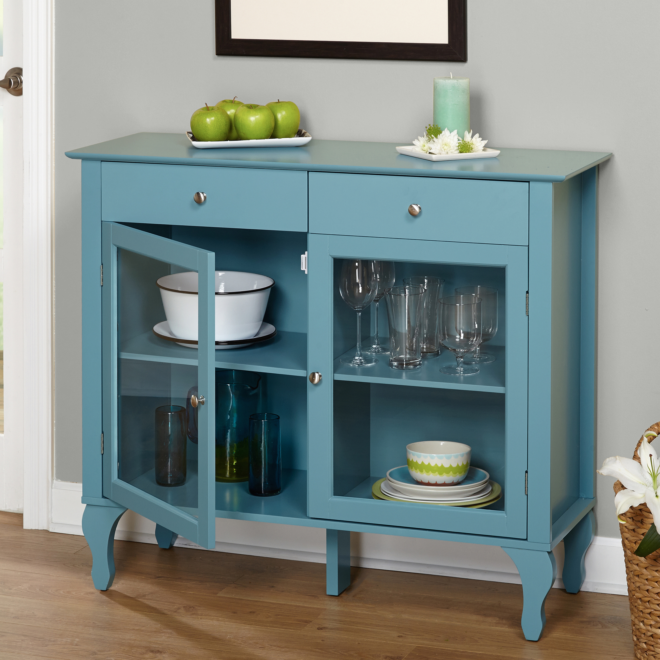 Layla 2 Drawer Buffet, Multiple Colors For Simple Living Layla Black Buffets (View 4 of 20)