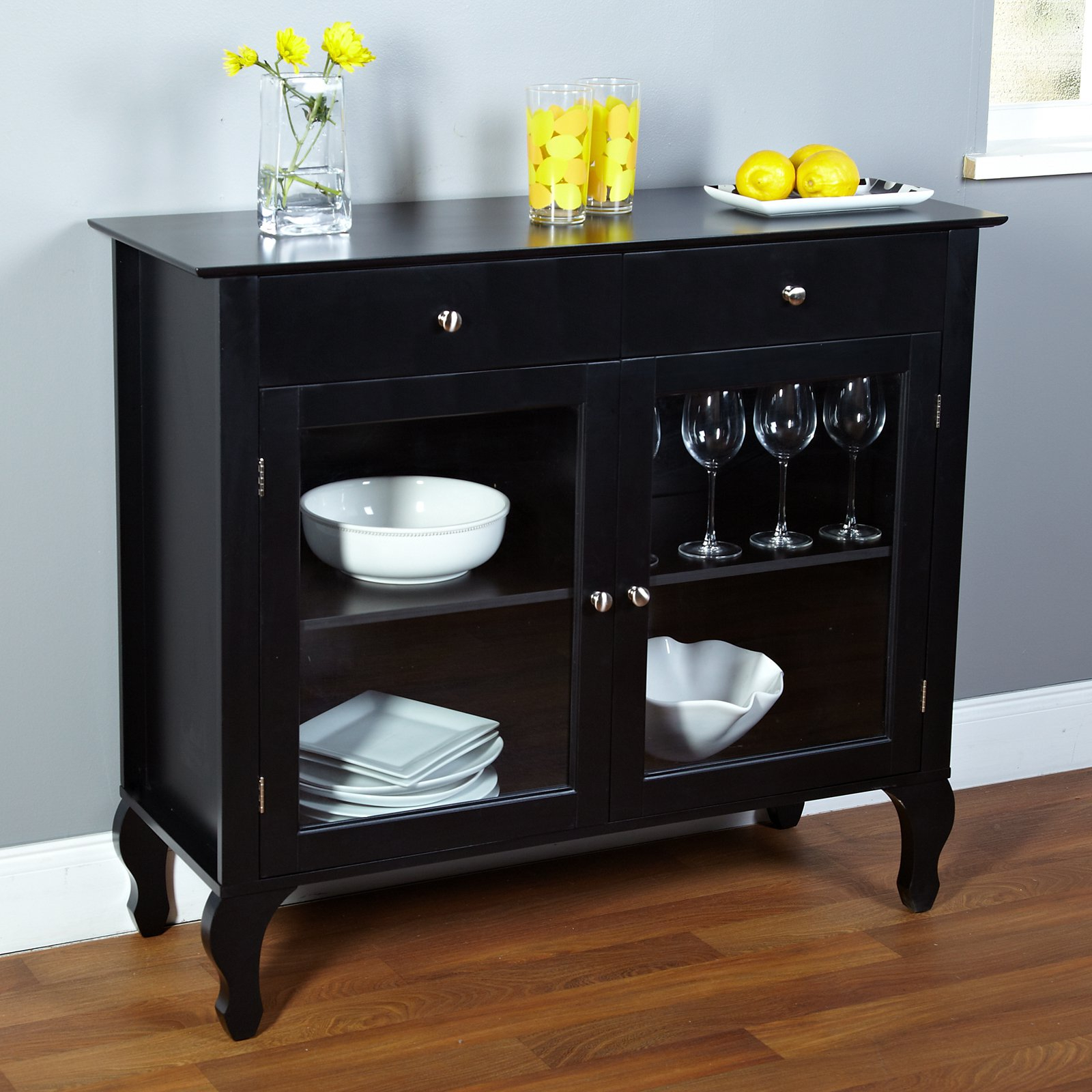 Layla 2 Drawer Buffet, Multiple Colors Regarding Simple Living Layla Black Buffets (View 5 of 20)