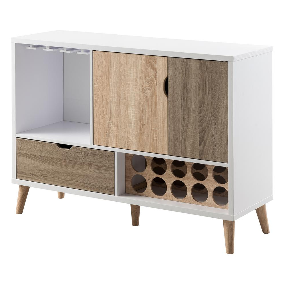 Lelor Multi Colored Buffet Throughout Modern Natural Oak Dining Buffets (View 12 of 20)