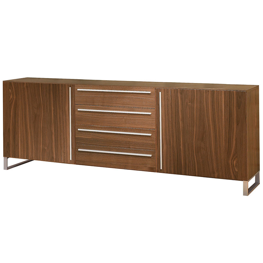Leopold Sideboard | Walnut Regarding Contemporary Black Buffets (View 9 of 20)