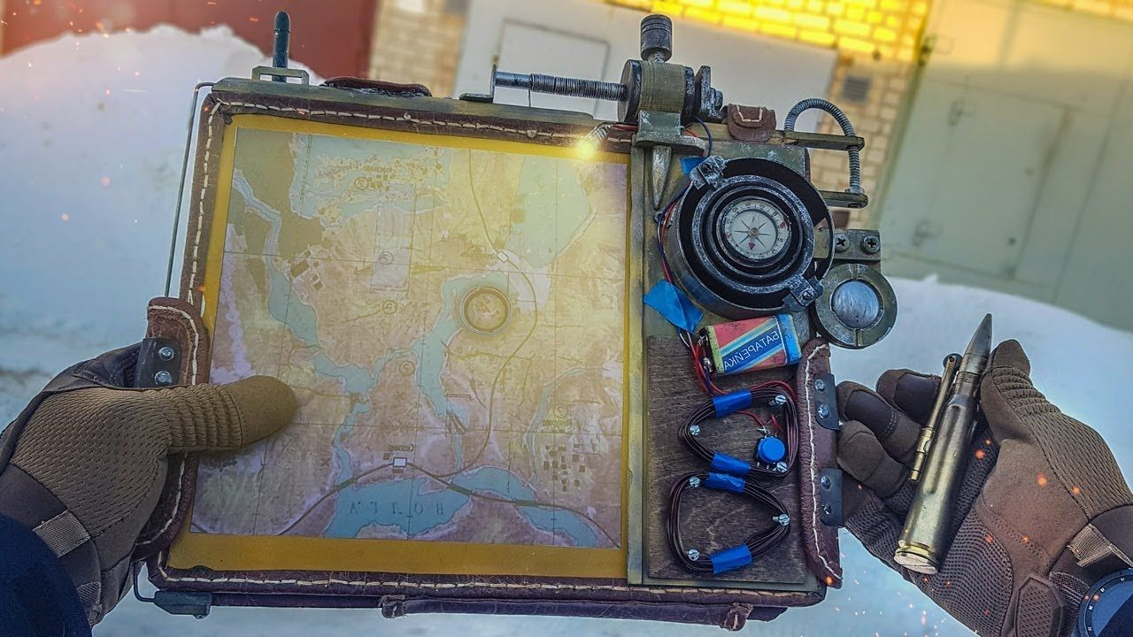 Lighter & Tablet From Metro Exodus How To Make Diy | Diy With Oenomel Credenzas (View 9 of 20)