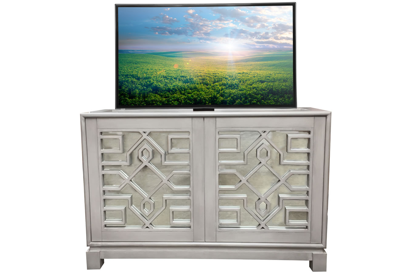 Lili Mirrored Buffet – Cabinet Tronix Throughout 3 Piece Mirrored Buffets (View 6 of 20)