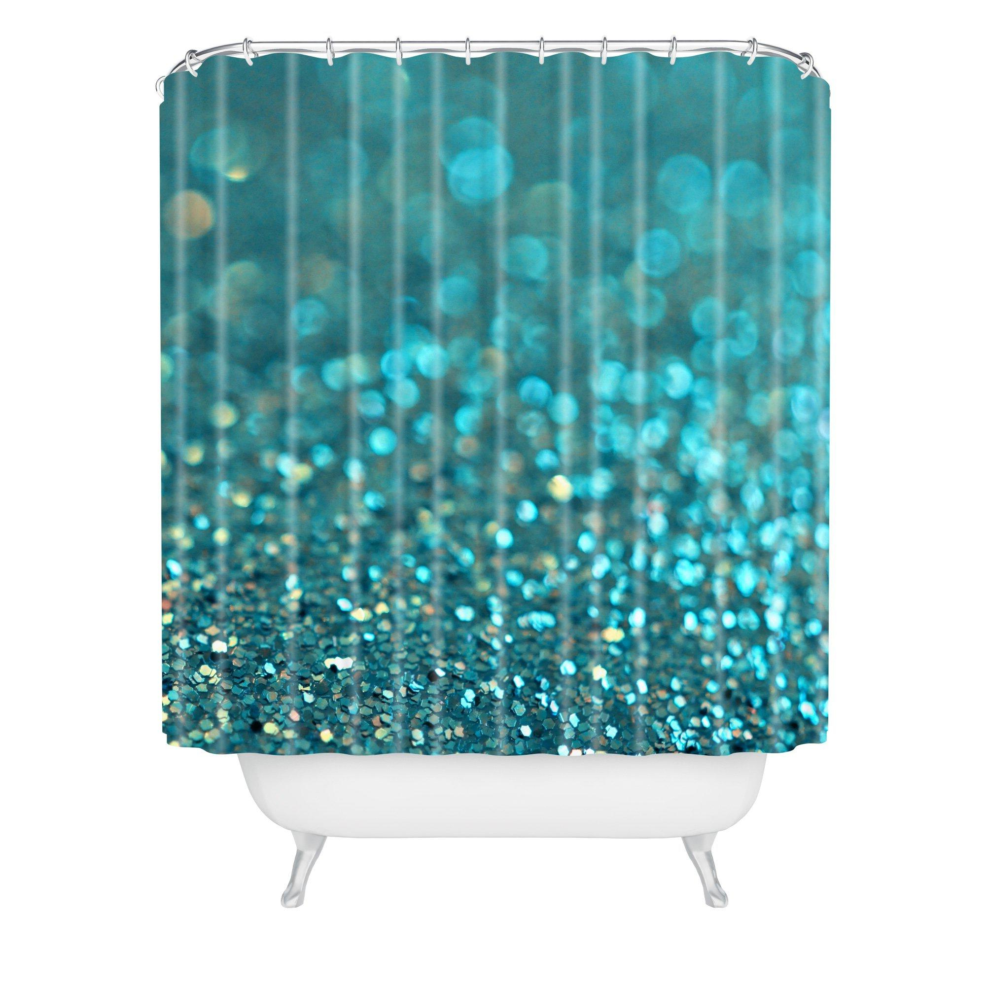 Lisa Argyropoulos Aquios Shower Curtain In Elephant Damask Paloma Credenzas (View 13 of 20)