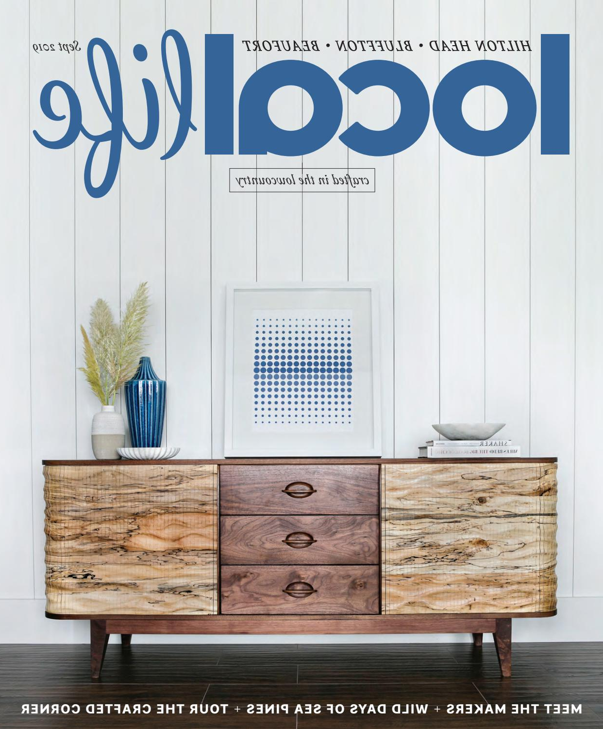 Local Life Magazine September 2019Locallife – Issuu With Regard To Strokes And Waves Credenzas (View 14 of 20)