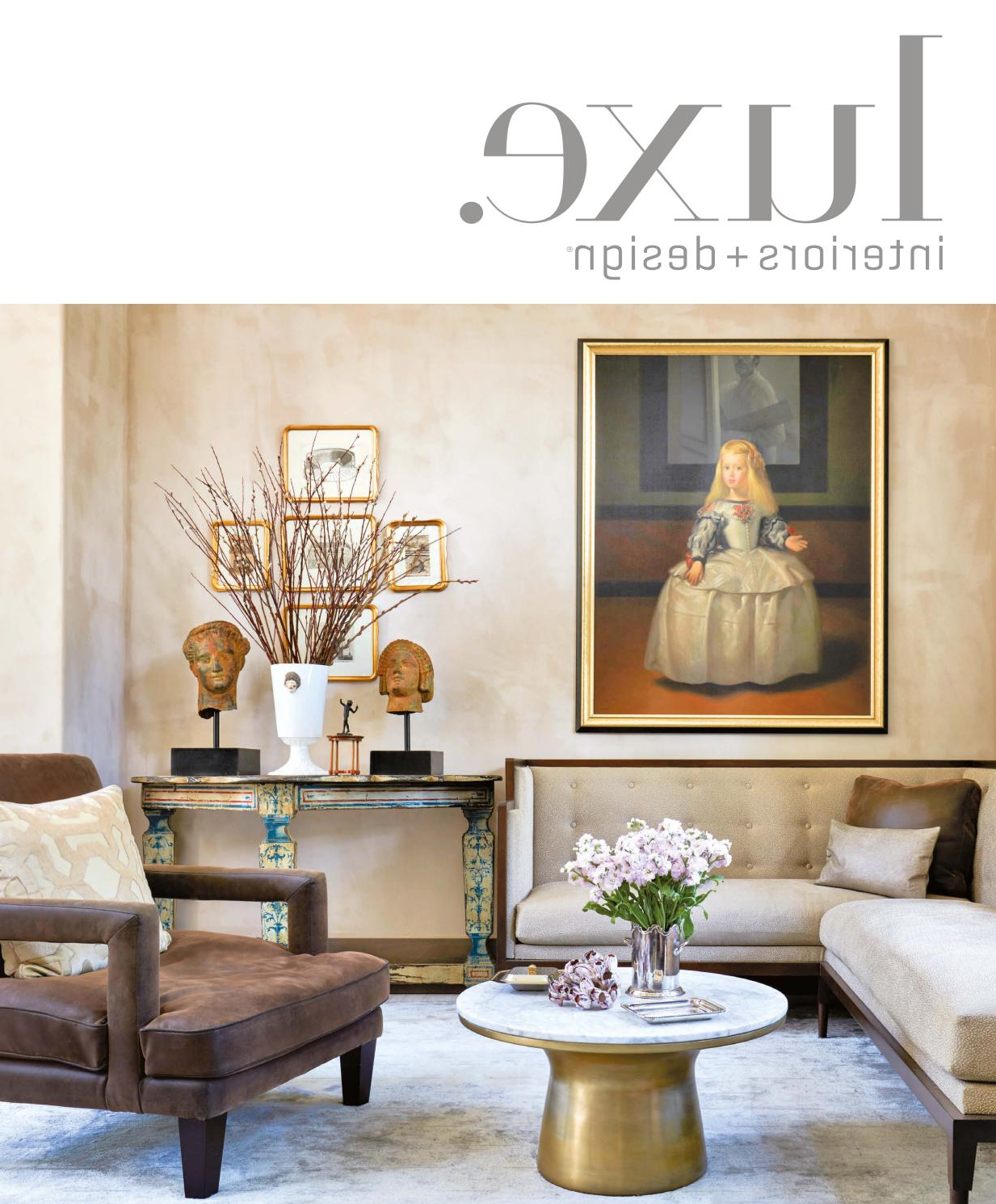 Luxe Magazine November 2016 Nationalsandow® – Issuu Intended For Mandala Tile Marine Credenzas (View 13 of 20)