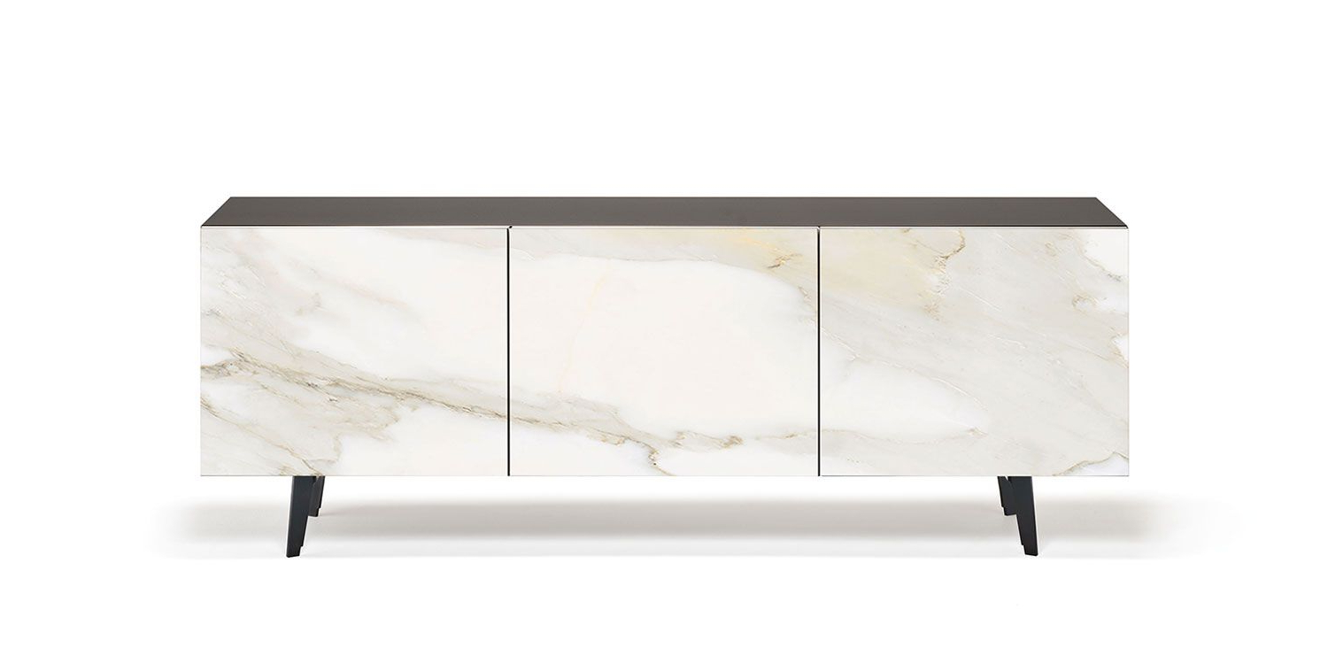 Metropol | Sideboards – Sideboard In Lacquered White (Gf71 Intended For Strokes And Waves Credenzas (View 10 of 20)