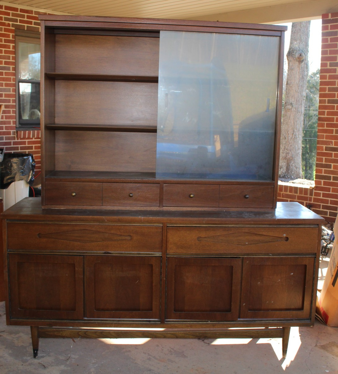Mid Century Buffet Remodel – The Unextreme In Mid Century Buffets (View 13 of 20)