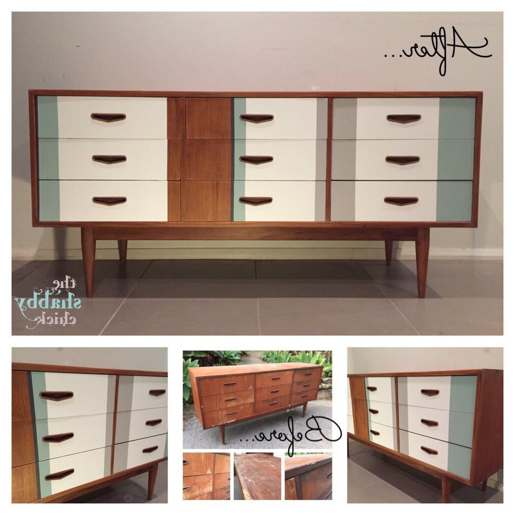 Mid Century Modern / Retro Modern Parker Chiswell Buffet Inside Mid Century White Buffets (View 9 of 20)