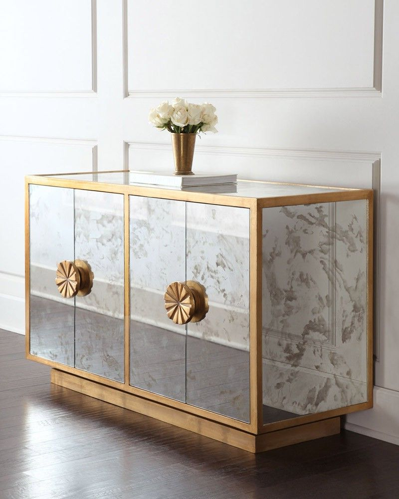 Mirrored Buffets And Cabinets For A Brighter Home Decor Intended For Mirrored Buffets (View 15 of 20)