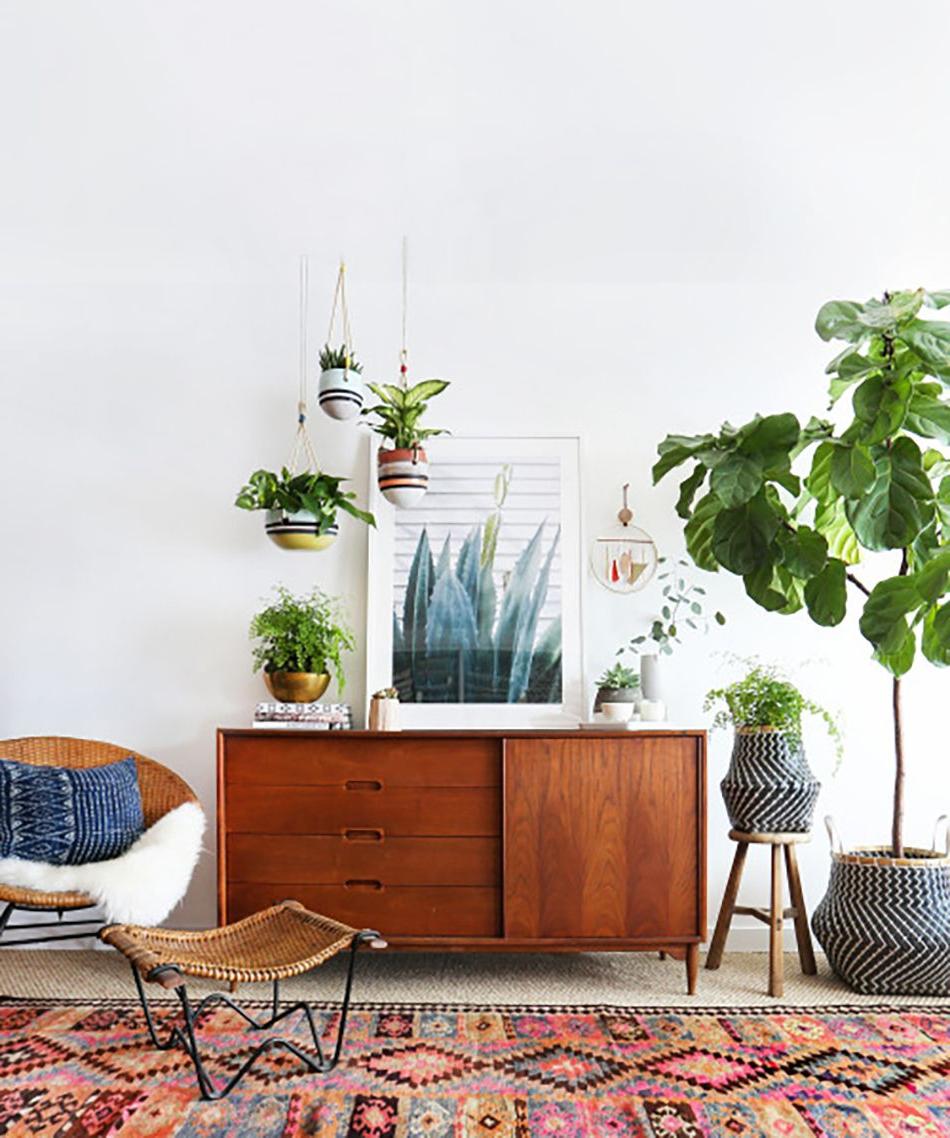 Modern Boho Interiors | Living Rooms | Retro Home, Home Regarding Retro Holistic Credenzas (View 14 of 20)