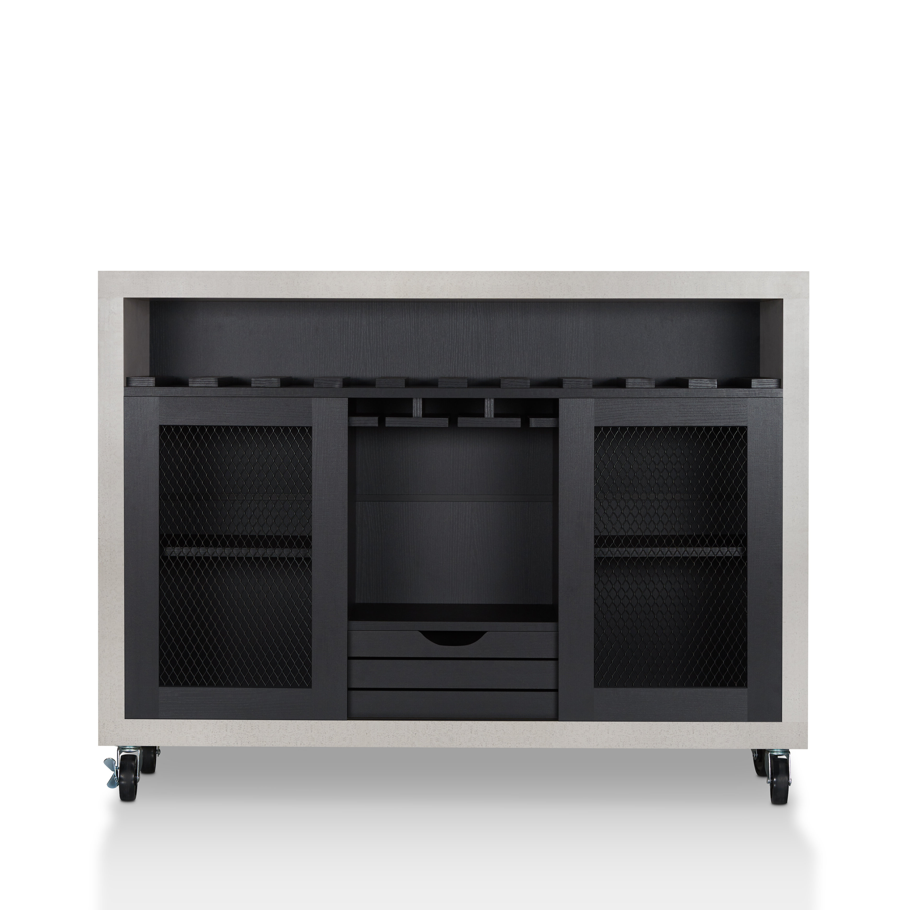 Modern & Contemporary Black Lacquer Buffet | Allmodern In Modern Lacquer 2 Door 3 Drawer Buffets (View 18 of 20)