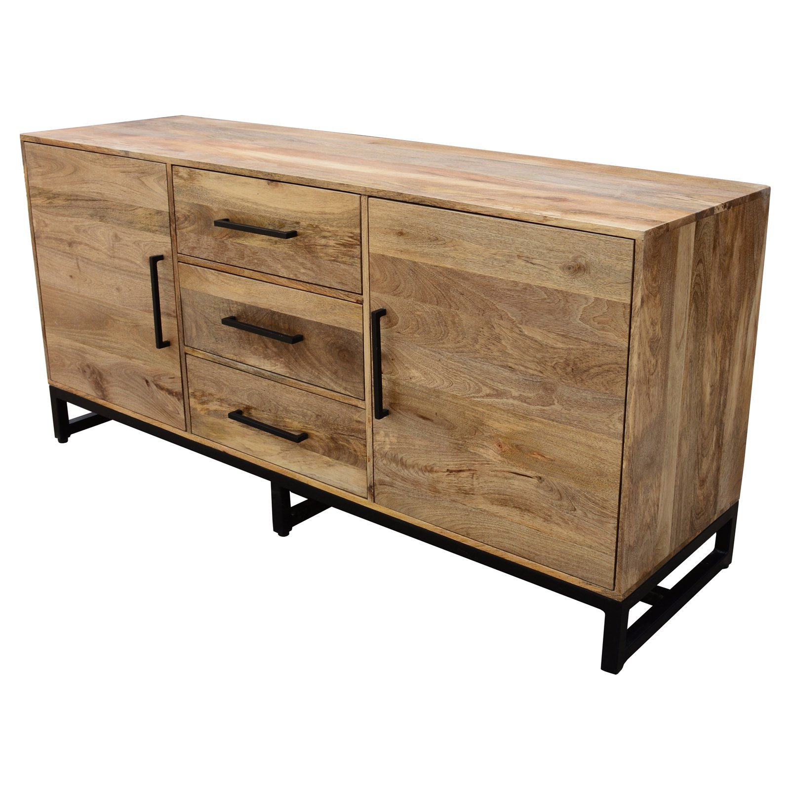 Moes Home Collection Colvin 3 Drawer Sideboard | Products In Inside Industrial Style 3 Drawer Buffets (View 10 of 20)