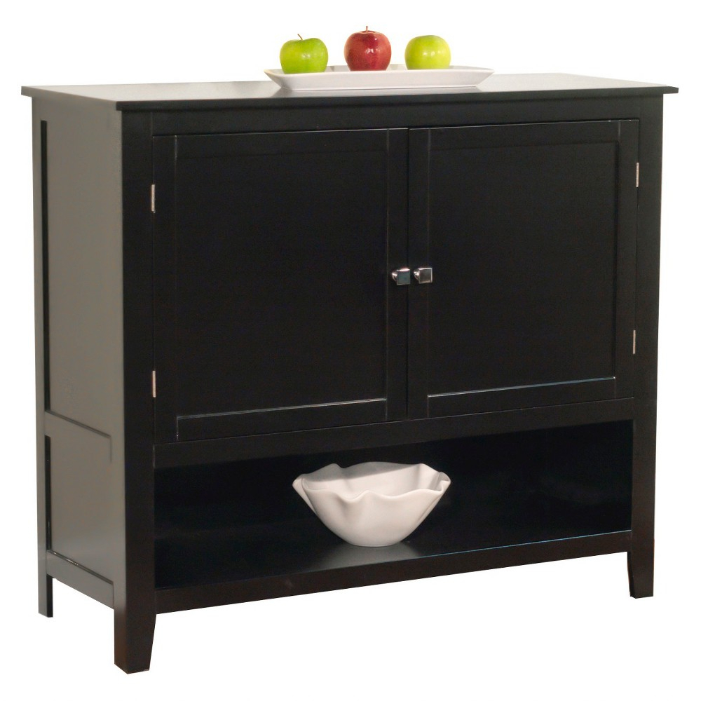 Montego Buffet Black Tms In 2019 | Products | Dining Regarding Simple Living Montego Black Wooden Buffets (View 8 of 20)