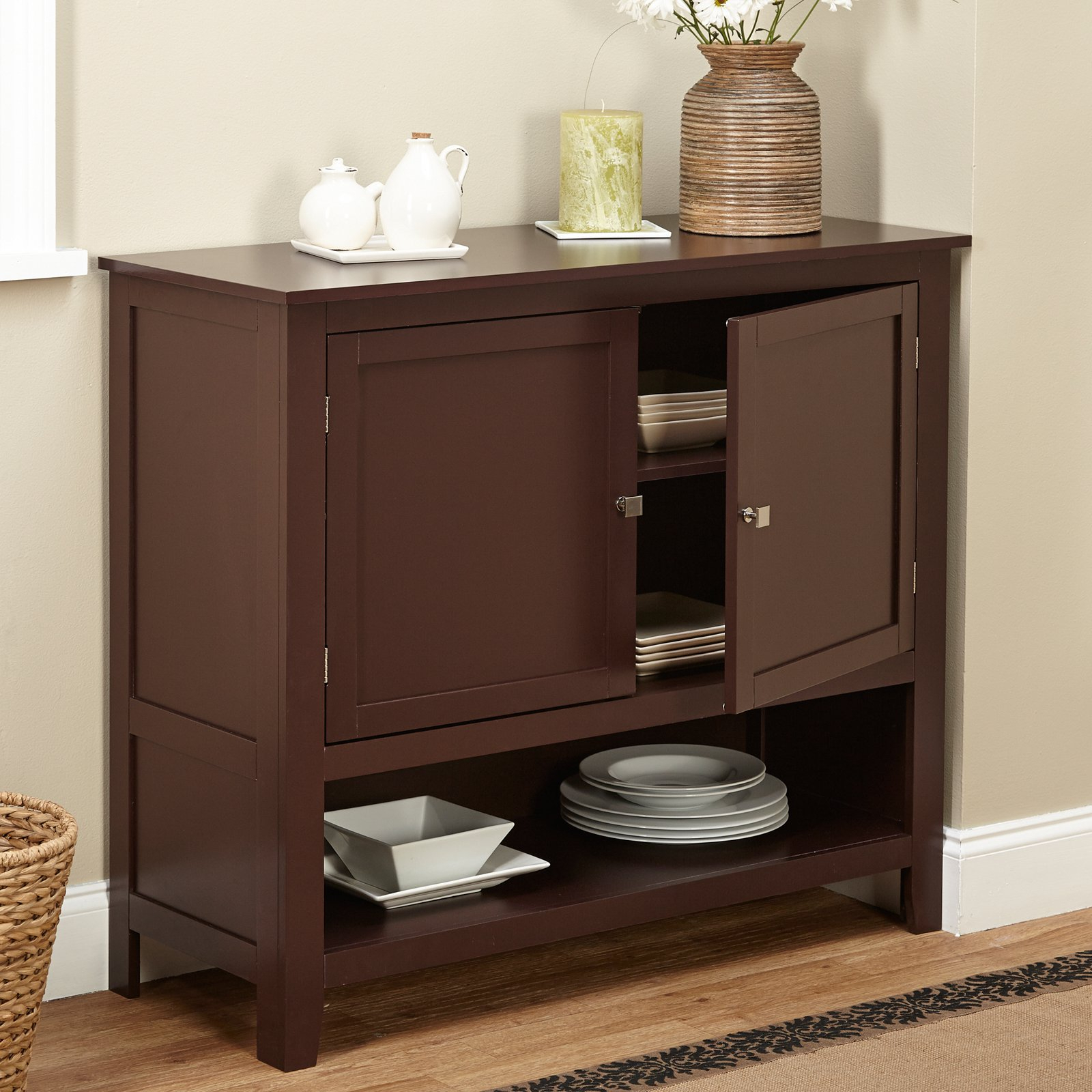Montego Buffet, Multiple Colors Inside Simple Living Montego Black Wooden Buffets (View 11 of 20)