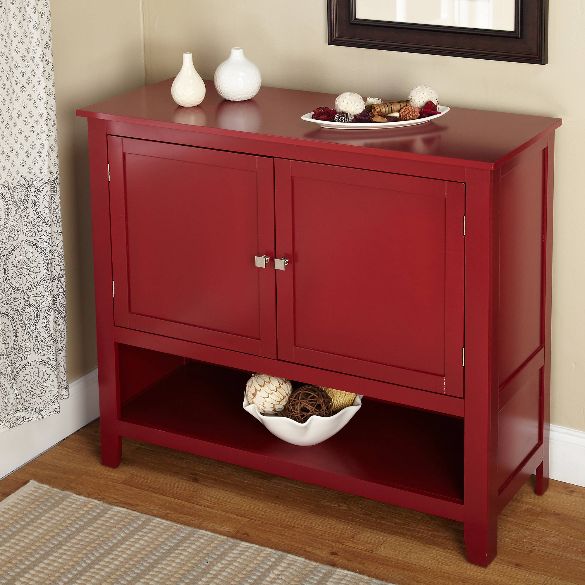 Montego Buffet, Multiple Colors With Contemporary Style Wooden Buffets With Two Side Door Storage Cabinets (View 15 of 20)