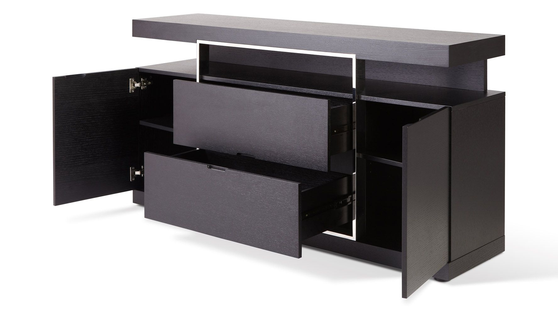 Norah Buffet | Tables | Furniture, Buffet, Office Furniture In Modern Espresso Storage Buffets (View 15 of 20)