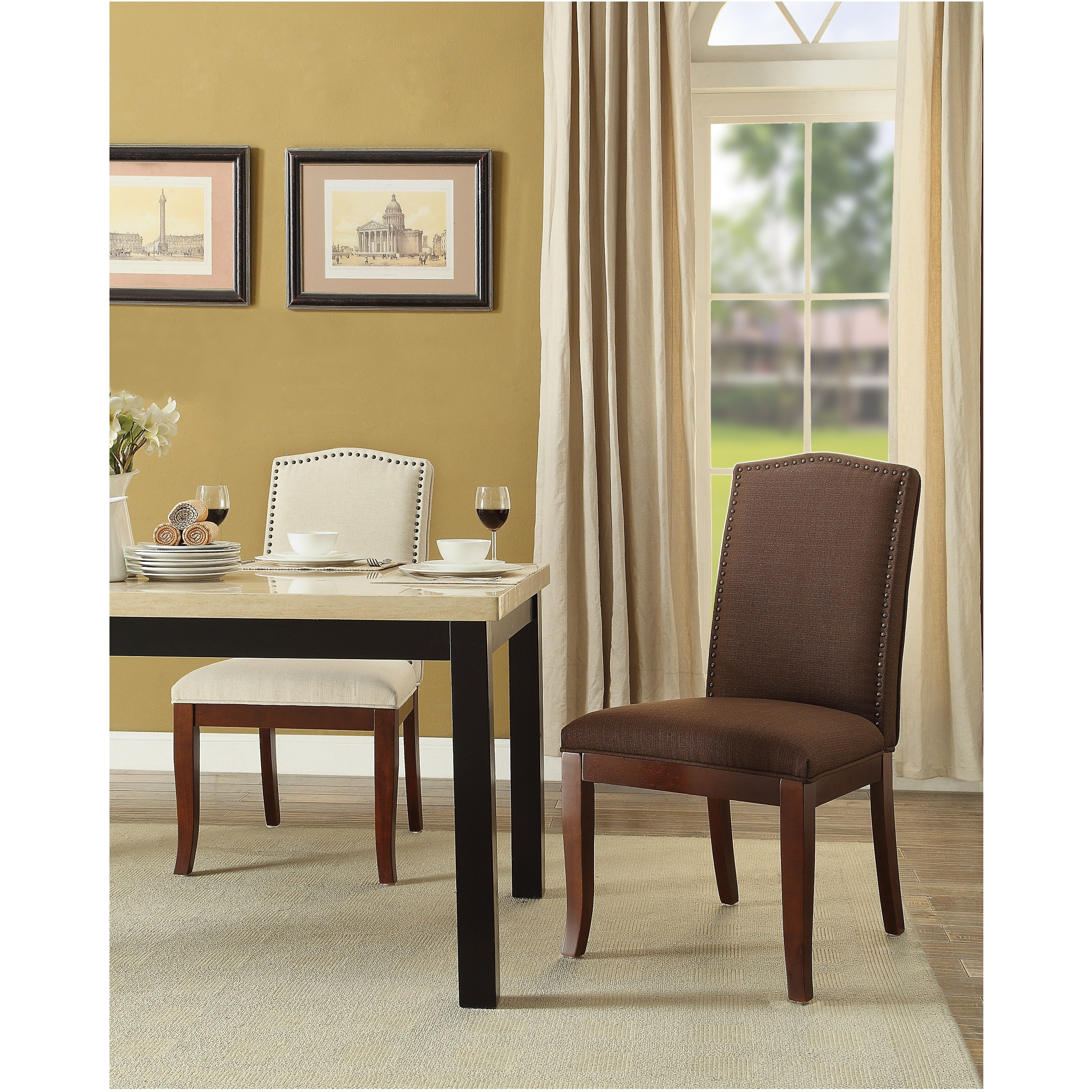 Osp Home Furnishings Hanson Dining Chair For Festival Eclipse Credenzas (View 19 of 20)